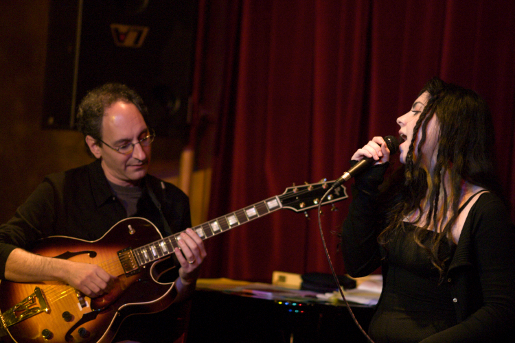 Dan & Emily Sawyer at Spazio's Jazz club