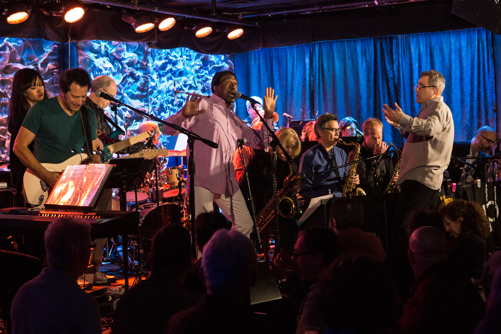 Ed Palermo Big Band at the Iridium, 1/8/2016