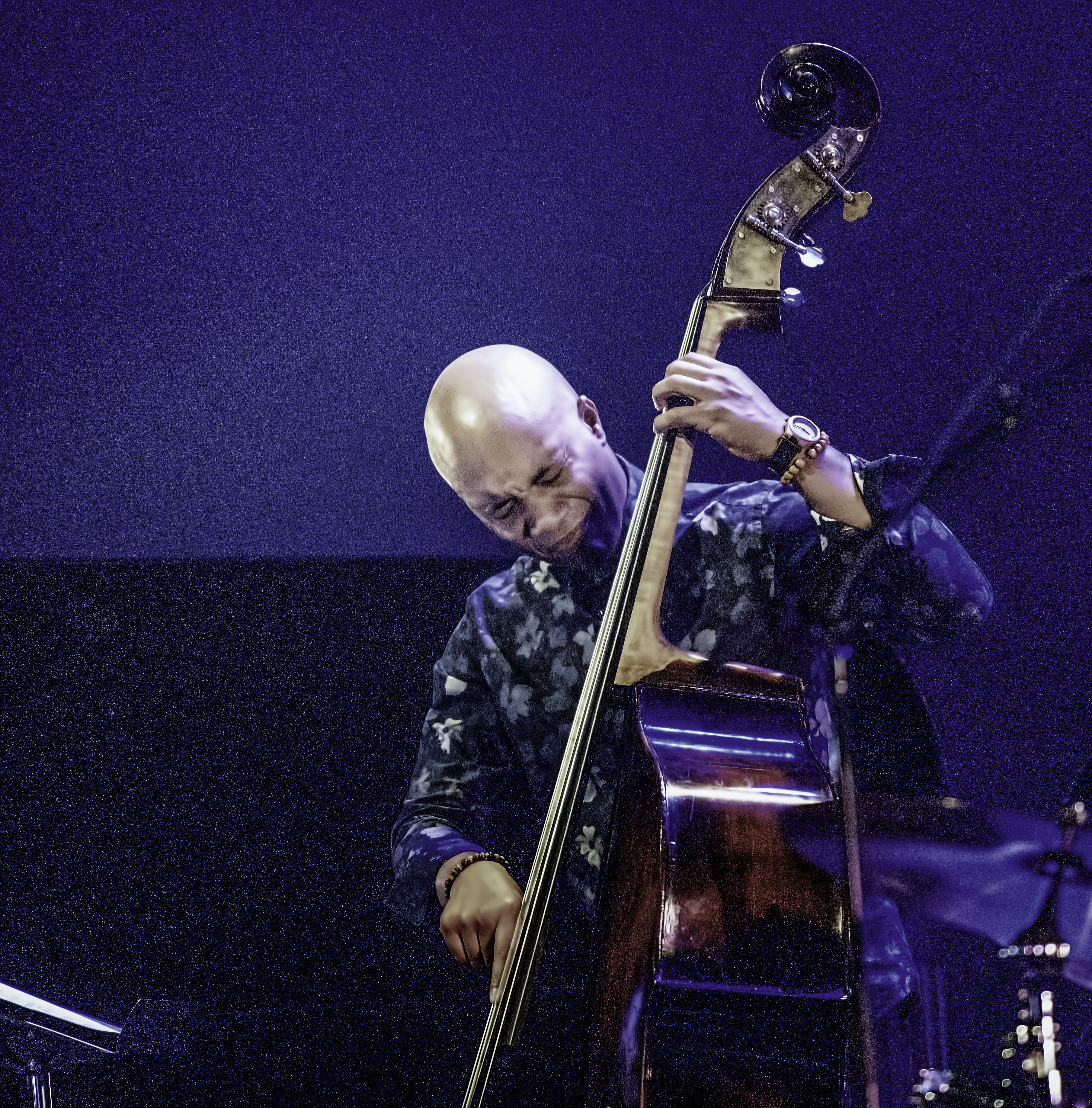 Ruben Rogers with the Joshua Redman Quartet At The Montreal International Jazz Festival 2019