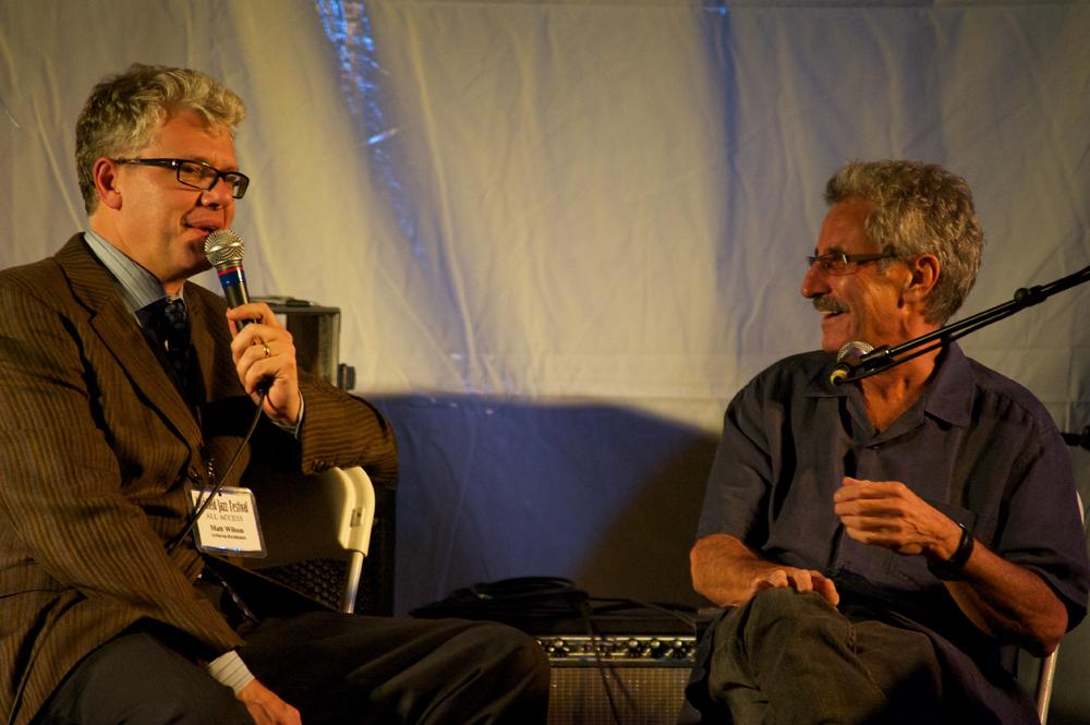 Matt Wilson and Mario Pavone