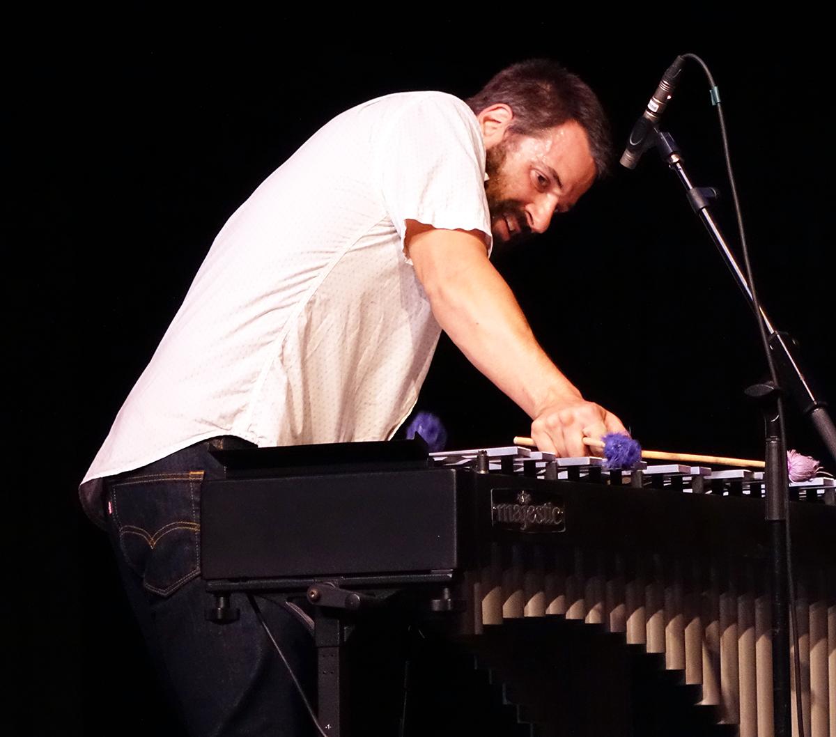 Jason Adasiewicz at Guelph Jazz Festival 2015