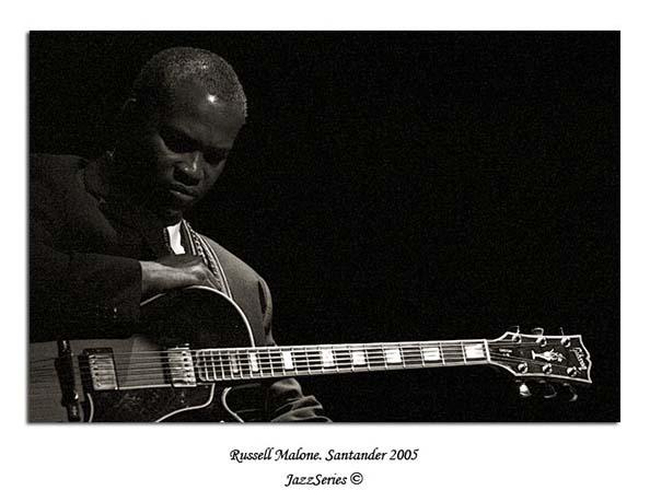 Russell Malone. Santander-2005
