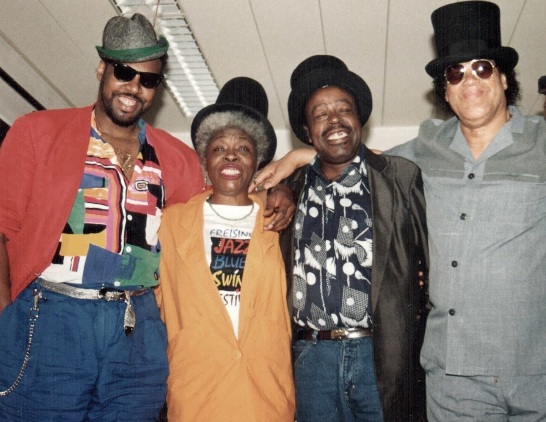 Gary Wiggins, Jeanne Carroll, Carey Bell and Louisiana Red: The International Blues Projekt