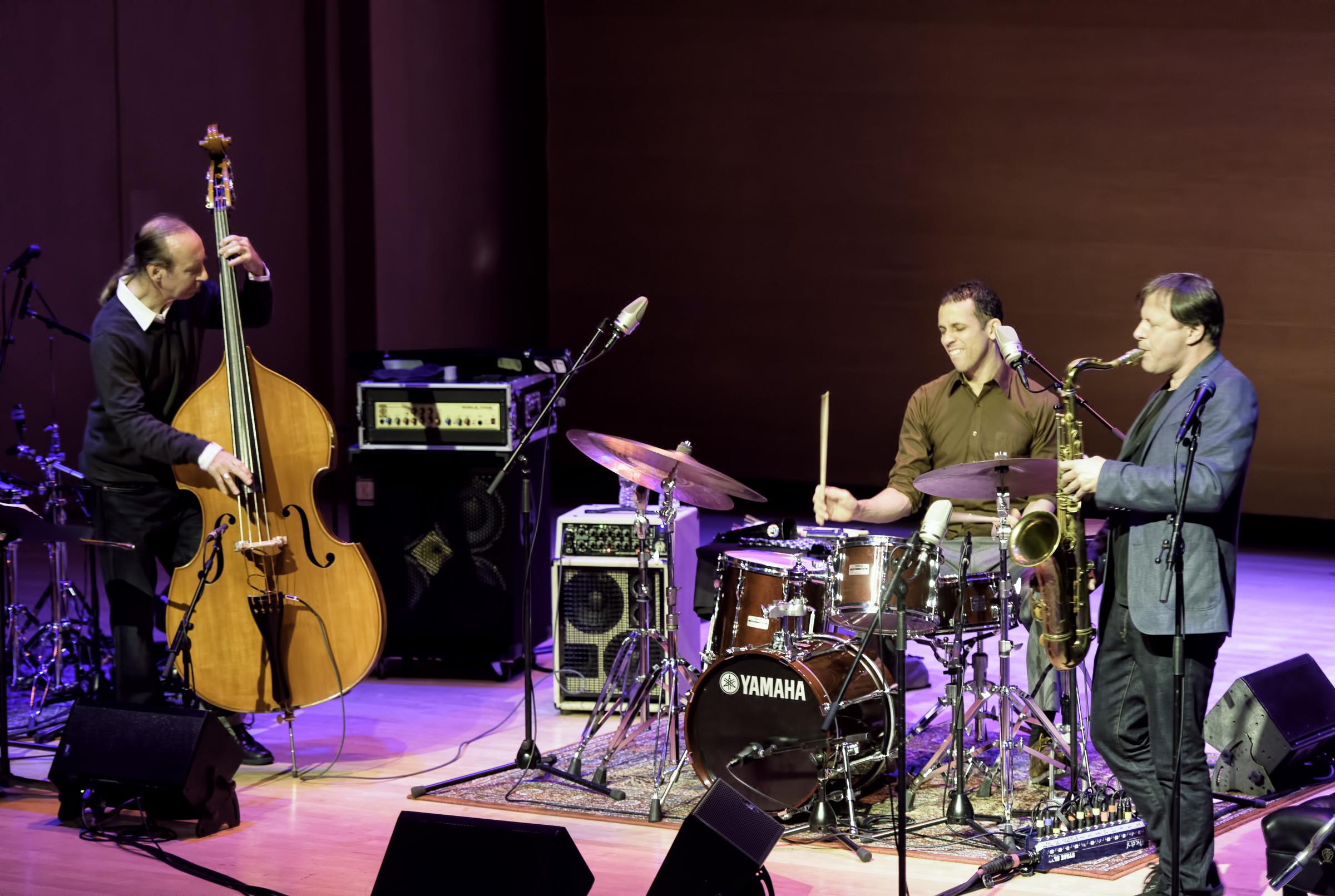 Drew Gress, Adam Cruz and Chris Potter at the Musical Instrument Museum (MIM)