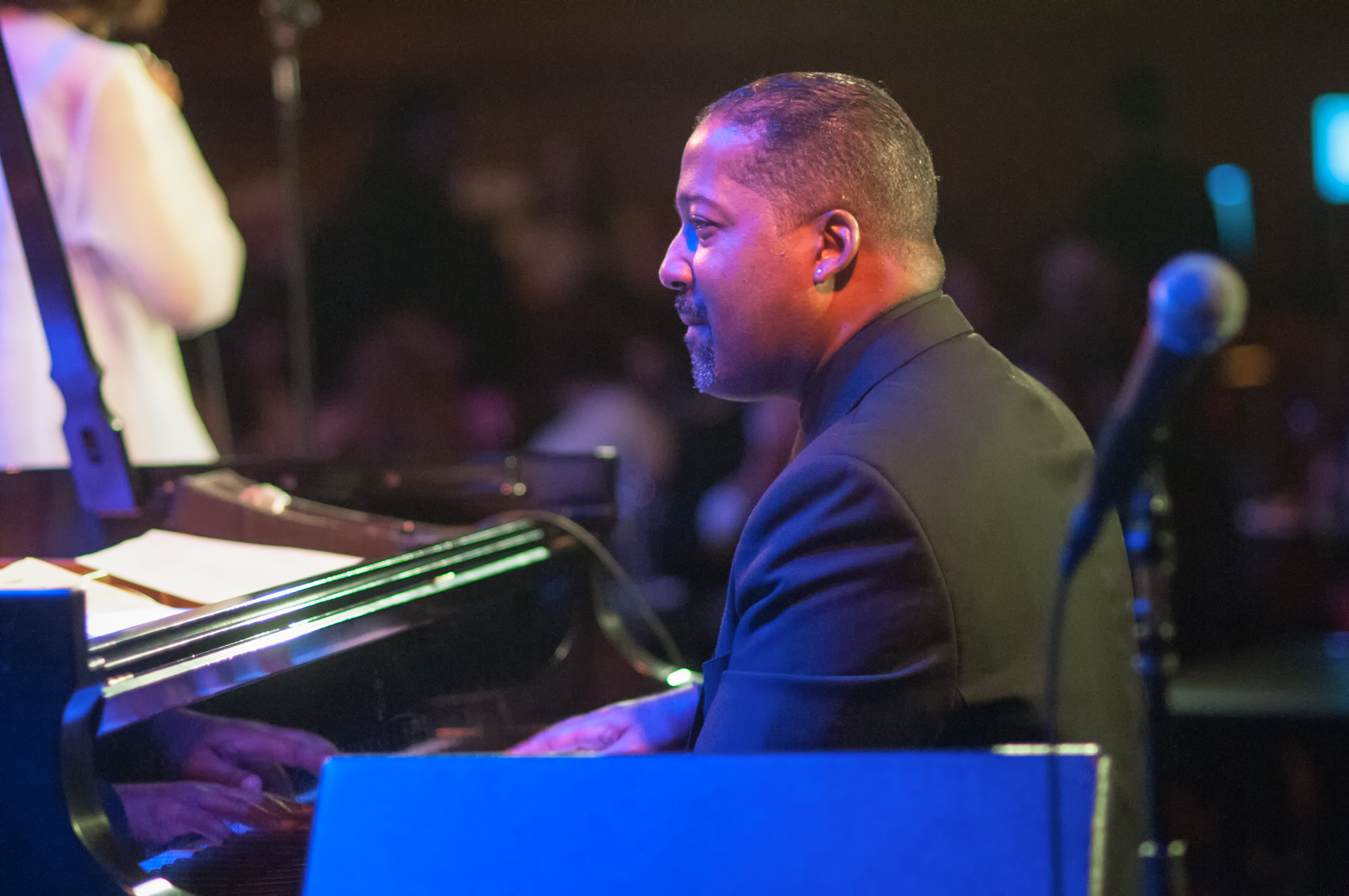 Eric Reed with Mary Stallings at Dizzy's Club