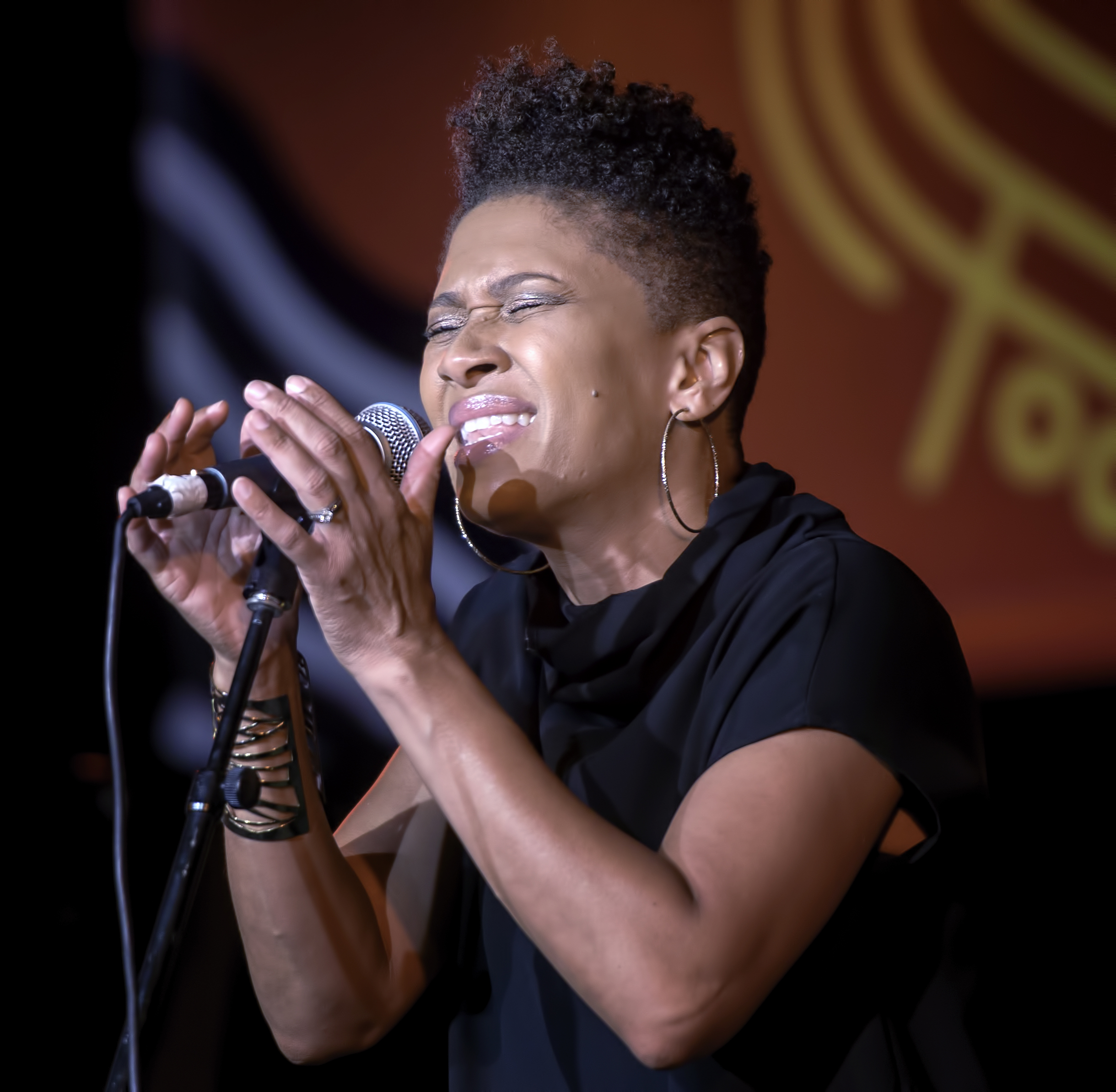 Jean Baylor with the Baylor Project at the Monterey Jazz Festival 2018