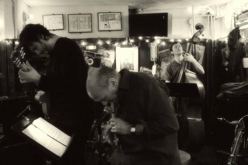 Scott DuBois, David Liebman and Thomas Morgan Live at the 55 Bar in NYC