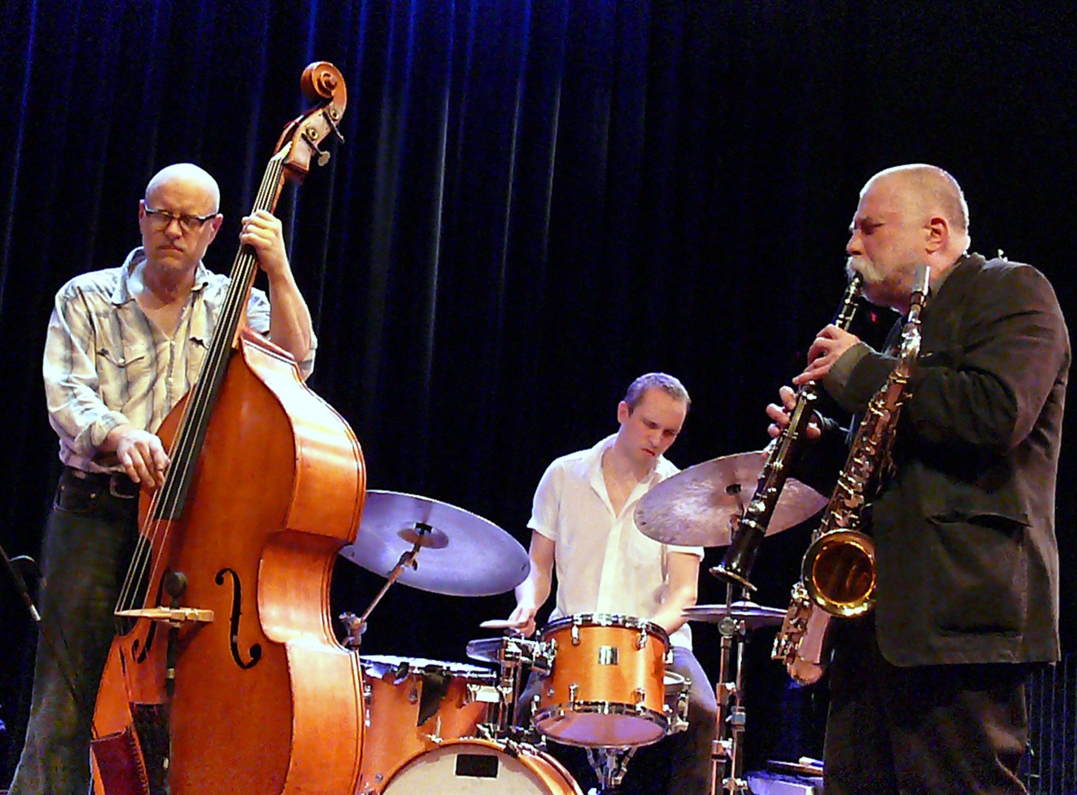 Kessler, Nilssen-Love, Brotzmann at the Bimhuis in Amsterdam, 13 February 2009