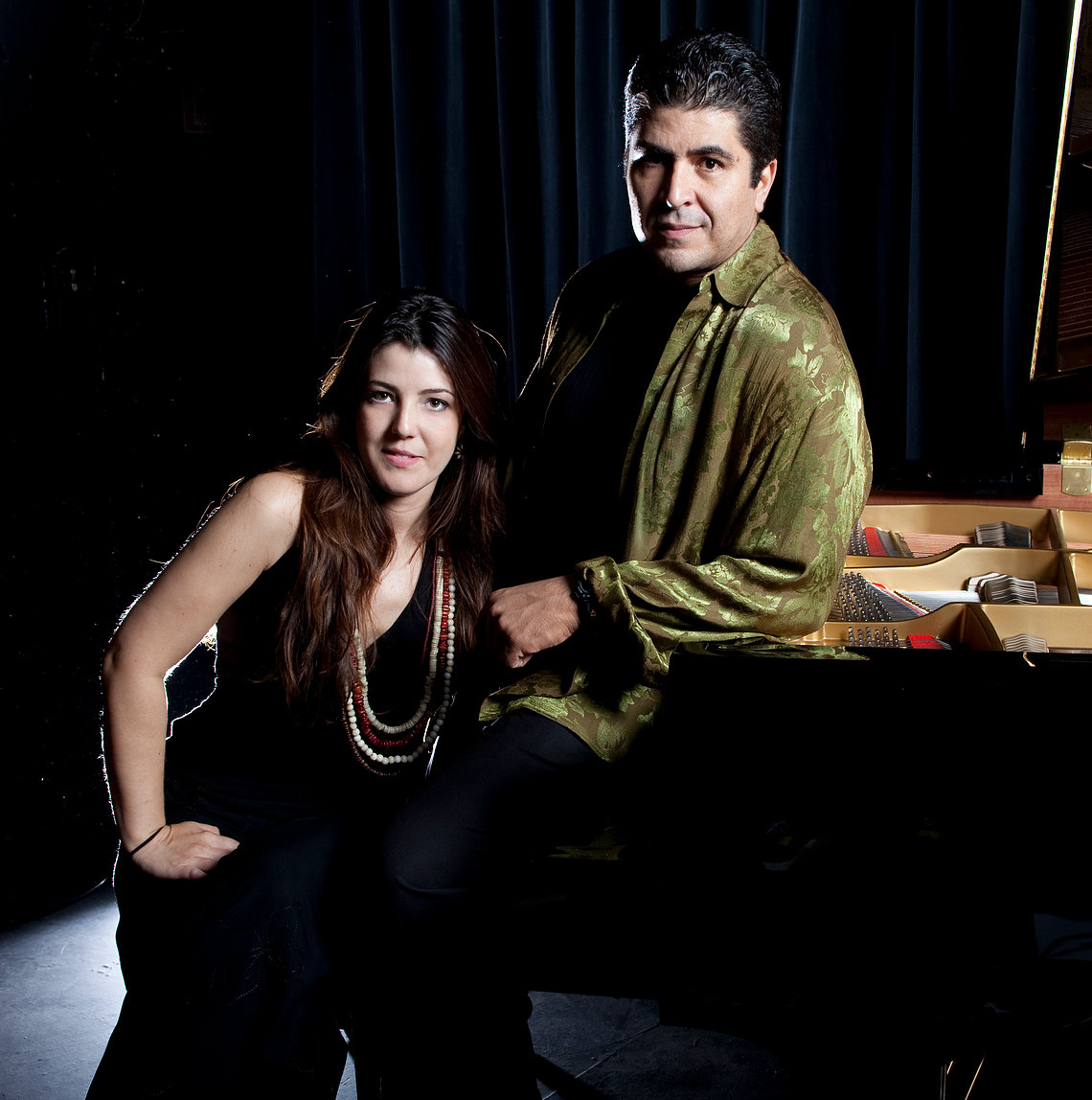 Catina DeLuna and Otmaro Ruiz 3