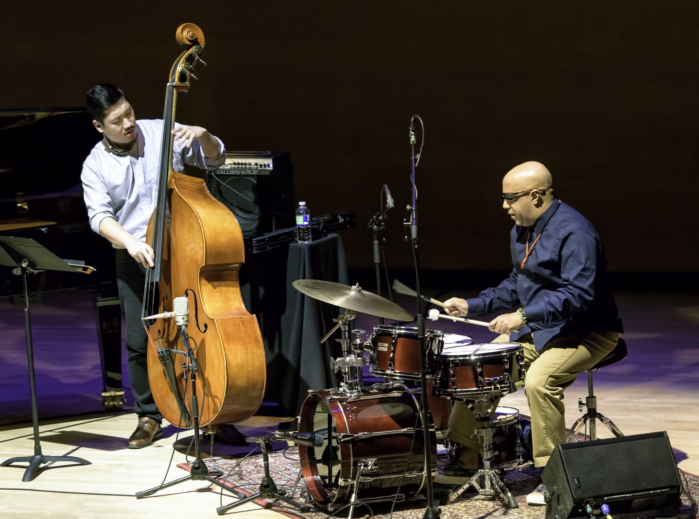 Yasushi Nakamura and Leon Parker with Aaron Goldberg Trio at the Musical Instrument Museum (MIM) Phoenix