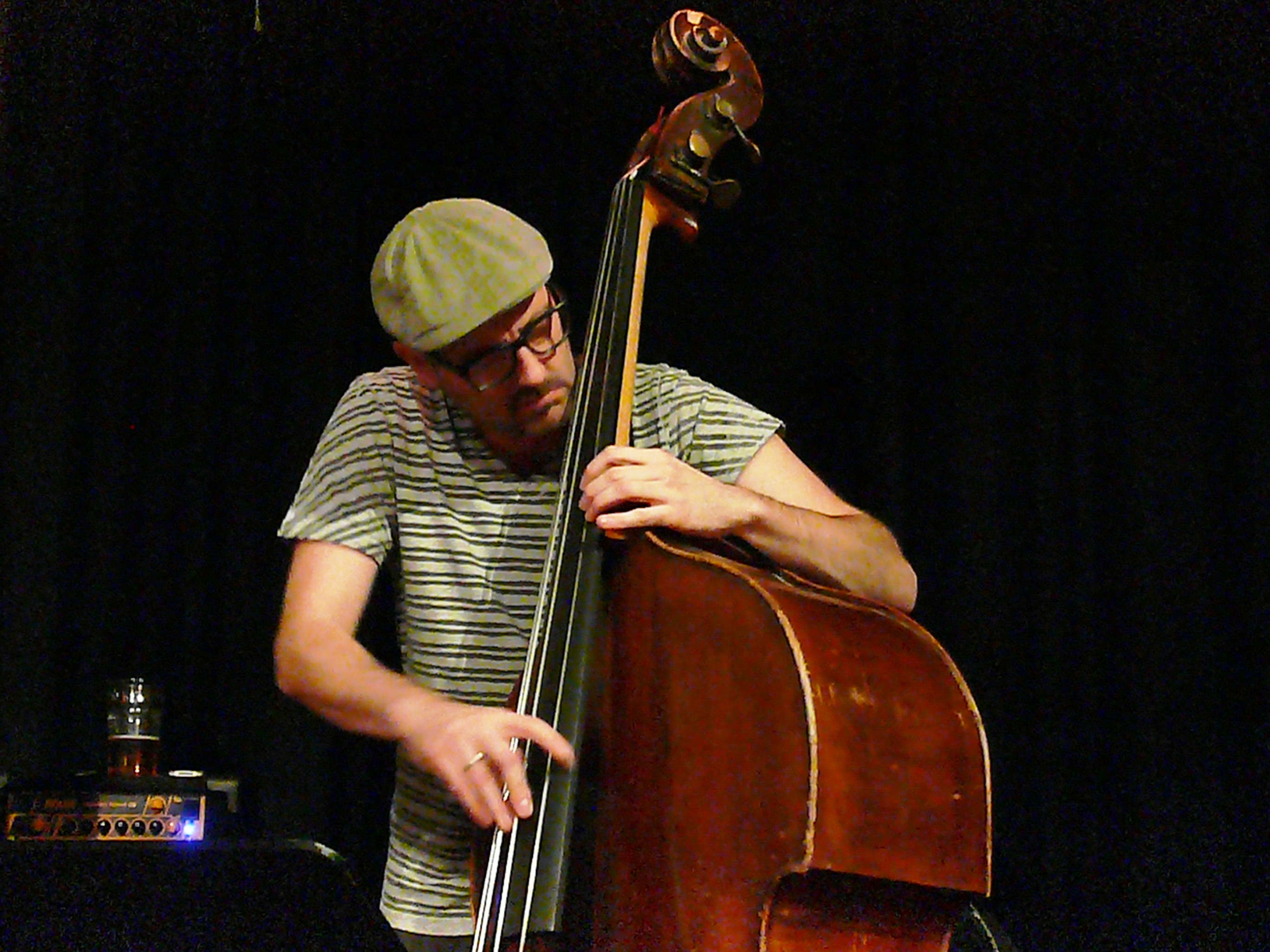 John hebert at the vortex, london in october 2013