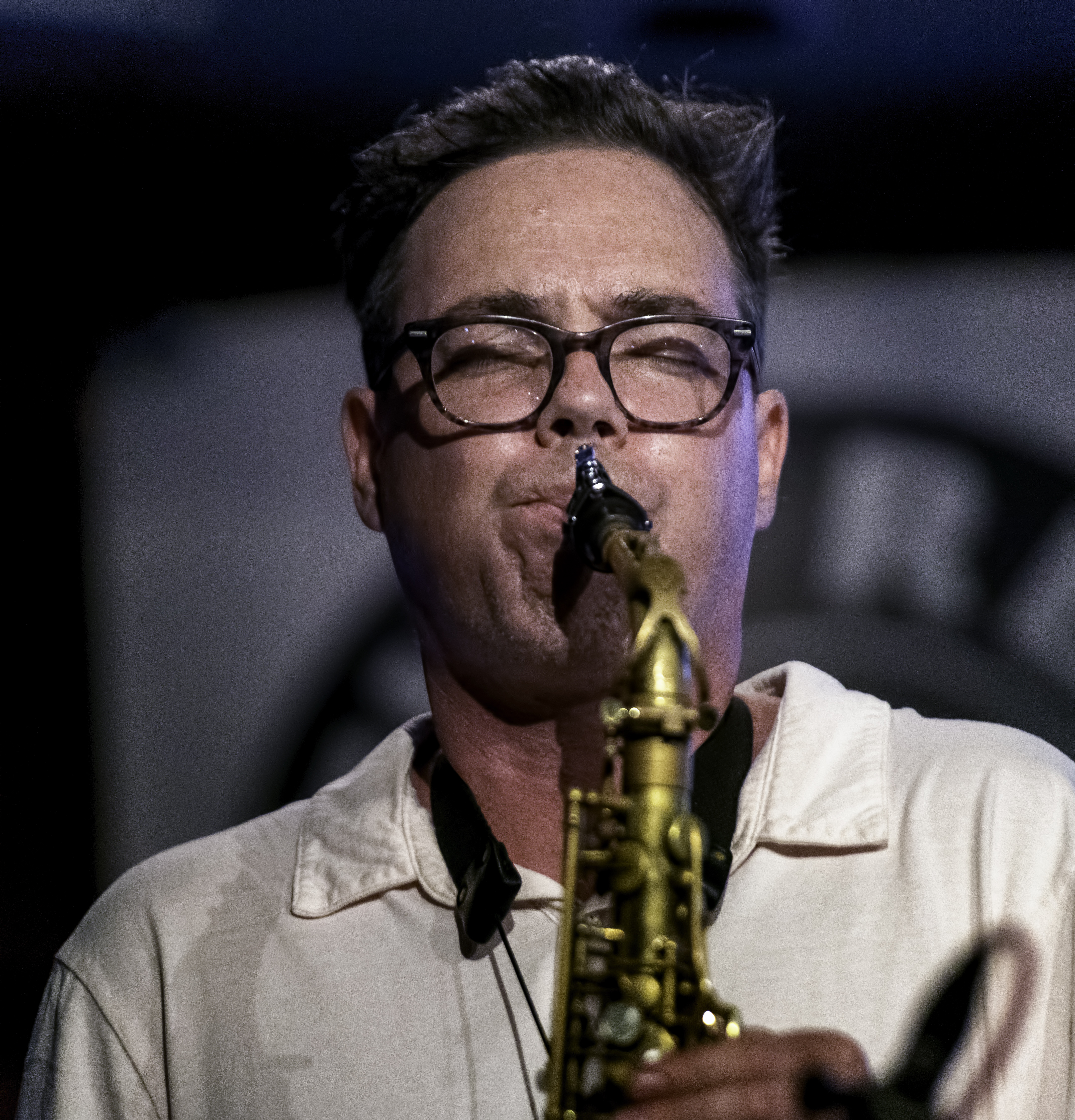 Brodie West with Quintet at the Rex Jazz Bar at the Toronto Jazz Festival 2019