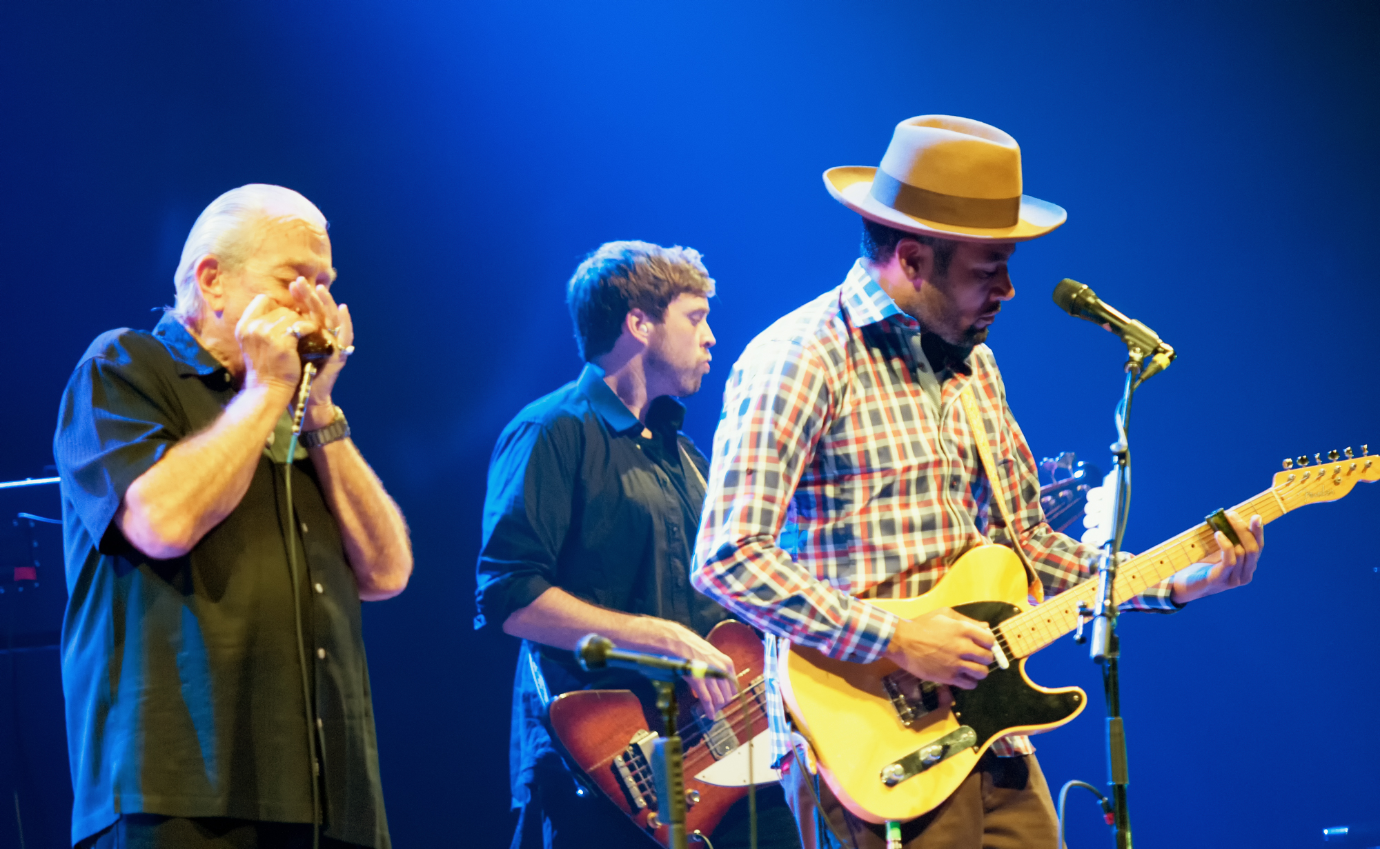 Charlie Musselwhite and Ben Harper at the Montreal International Jazz Festival 2014
