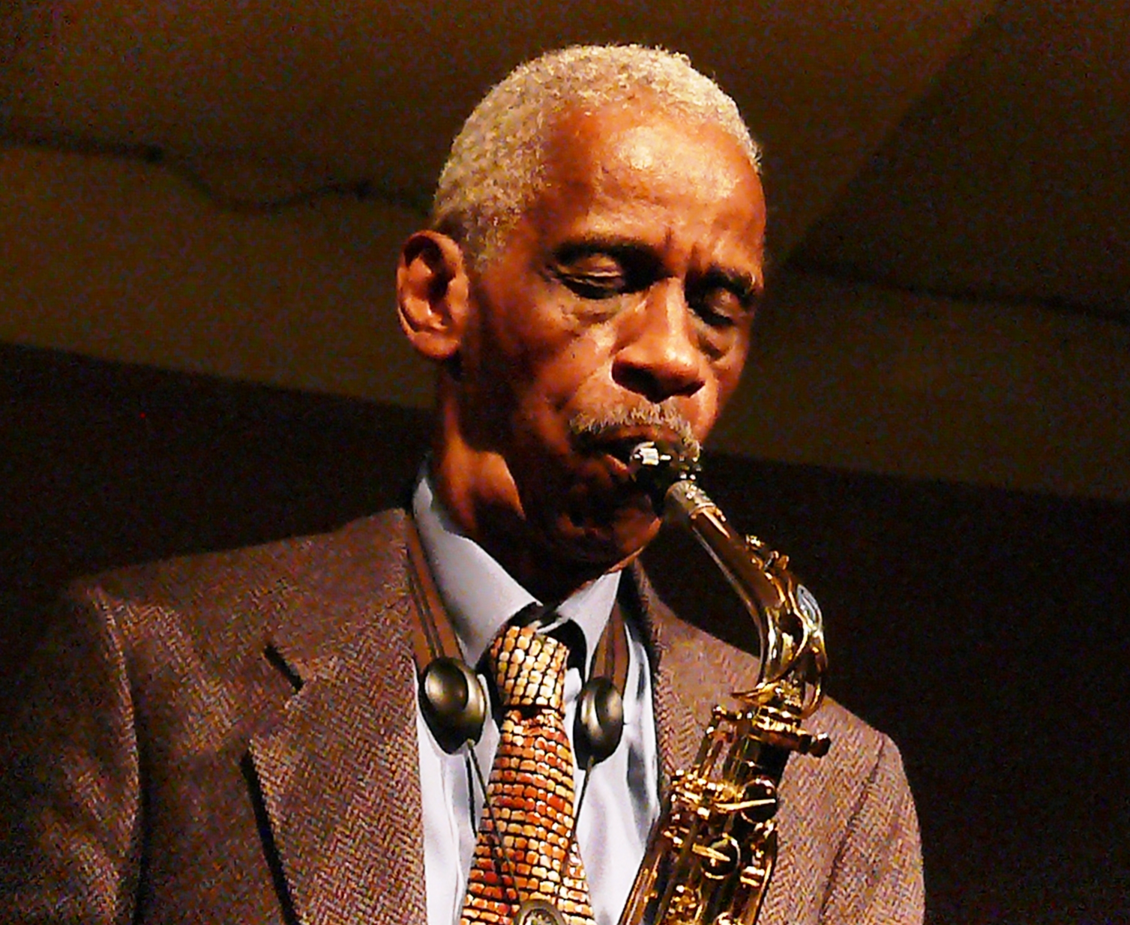 Roscoe Mitchell at Cafe Oto, London in March 2012