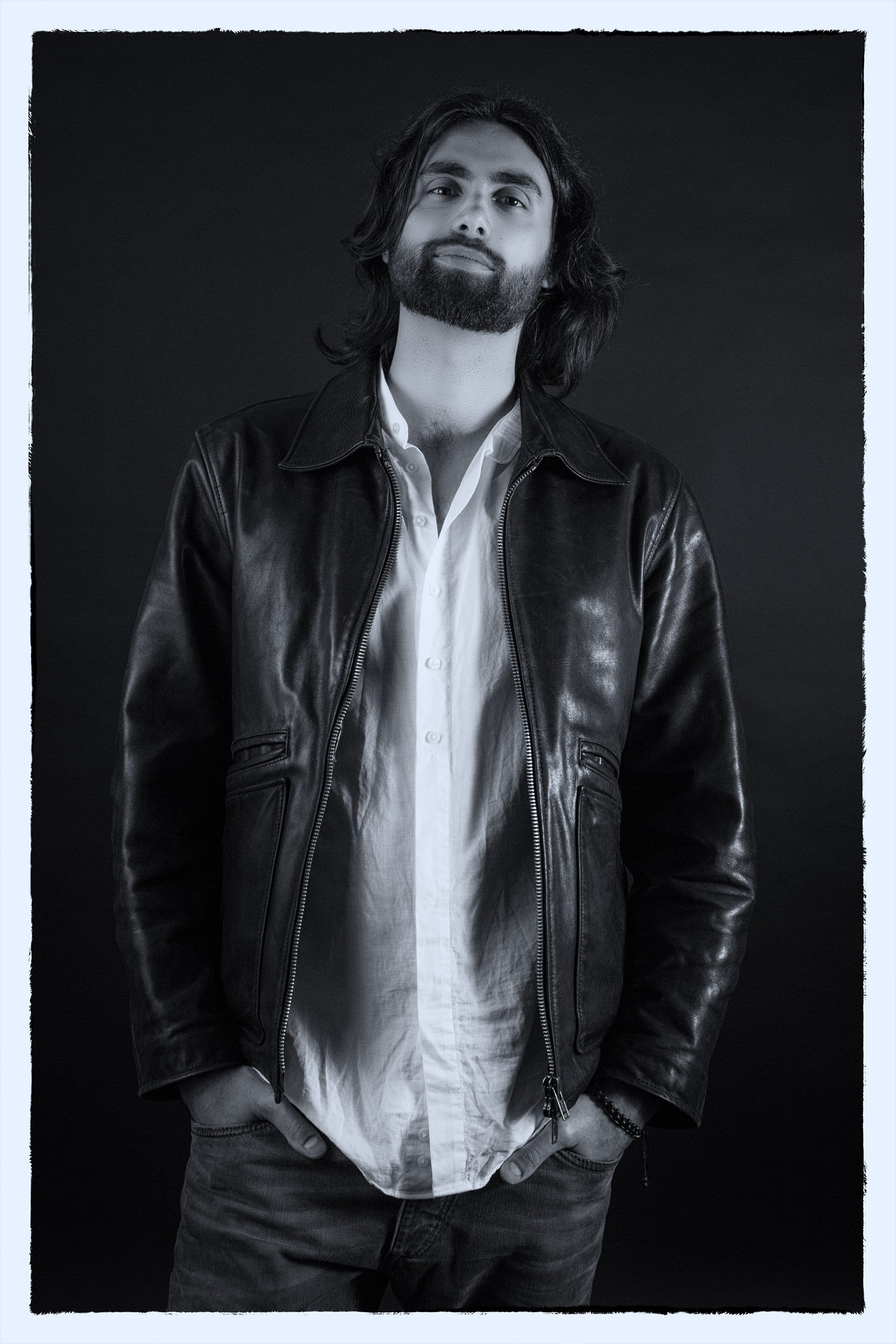 Milo Lombardi B&W portrait