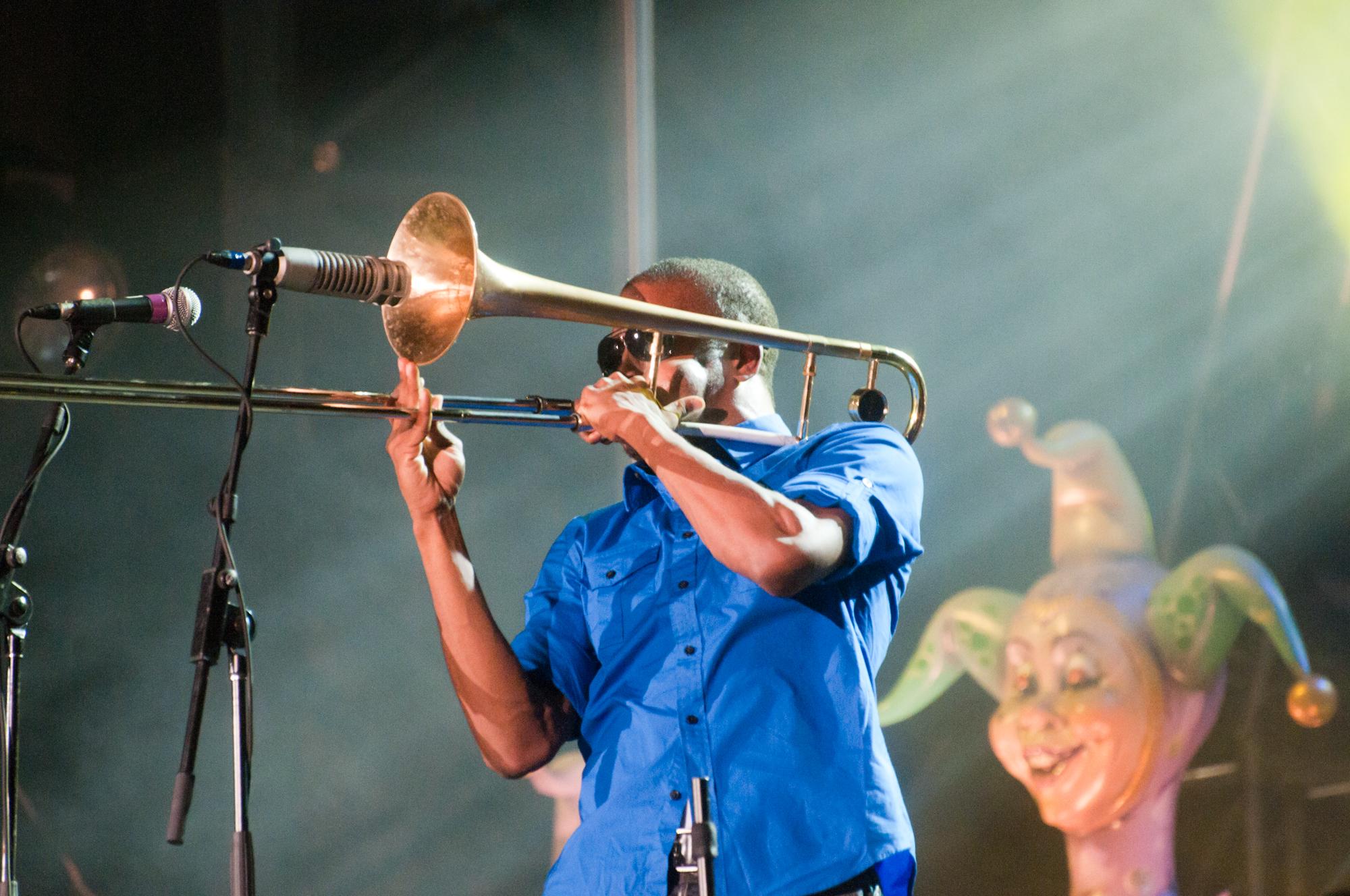 """""""Trombone Shorty"""" Andrews, Montreal International Jazz Festival, 2010"""