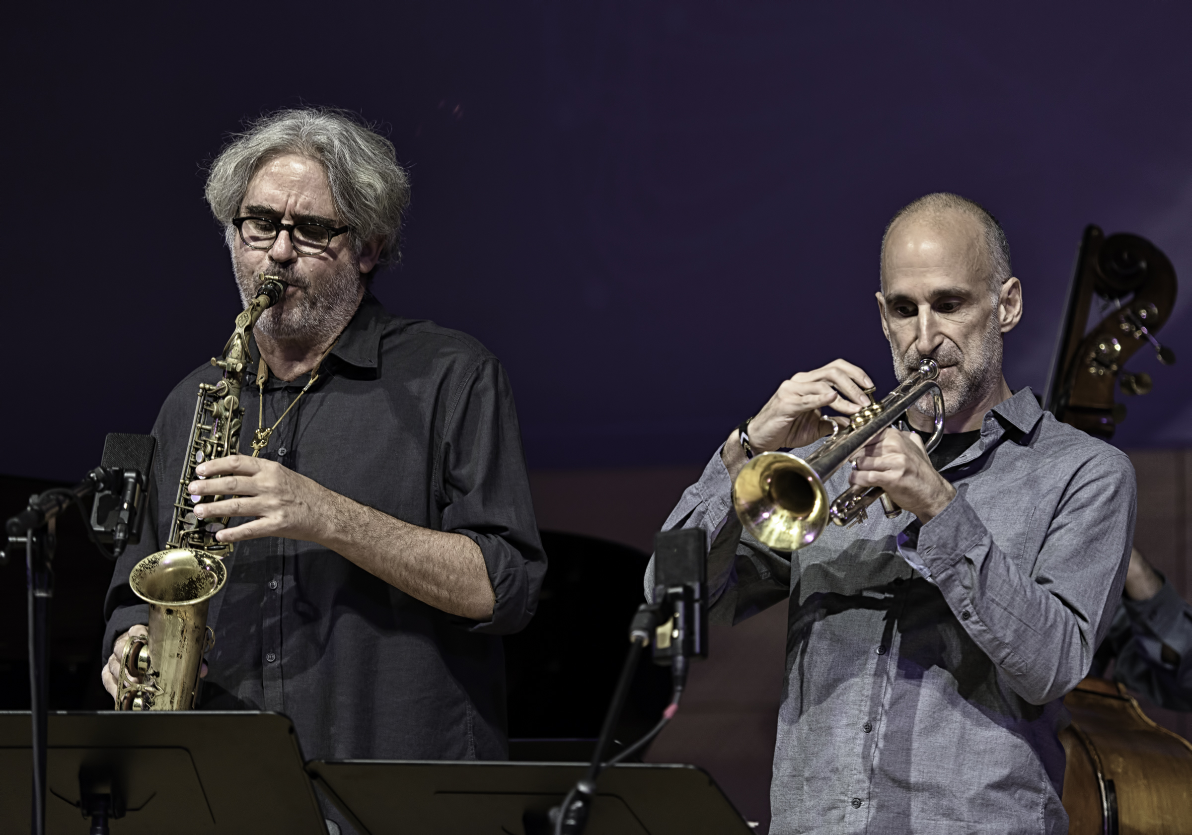 Tim Berne and Ralph Alessi with Sideshow at the NYC Winter Jazzfest 2016