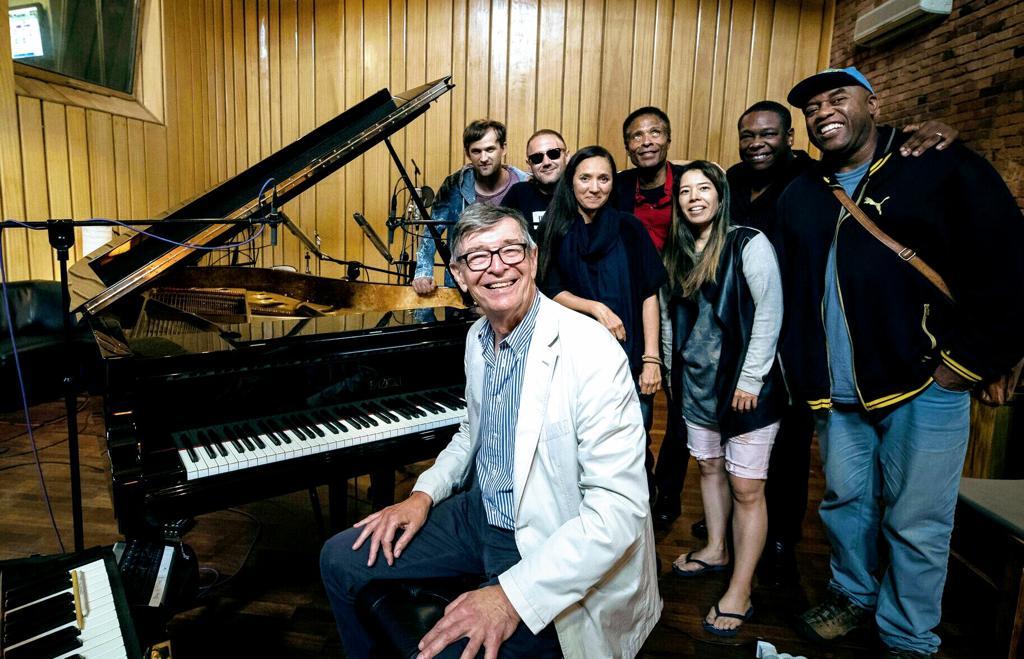 Darius Brubeck with the Jazz Brigade