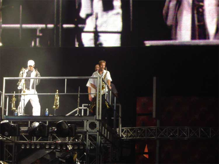 Paul Howards on Stage w/ Justin Timberlake