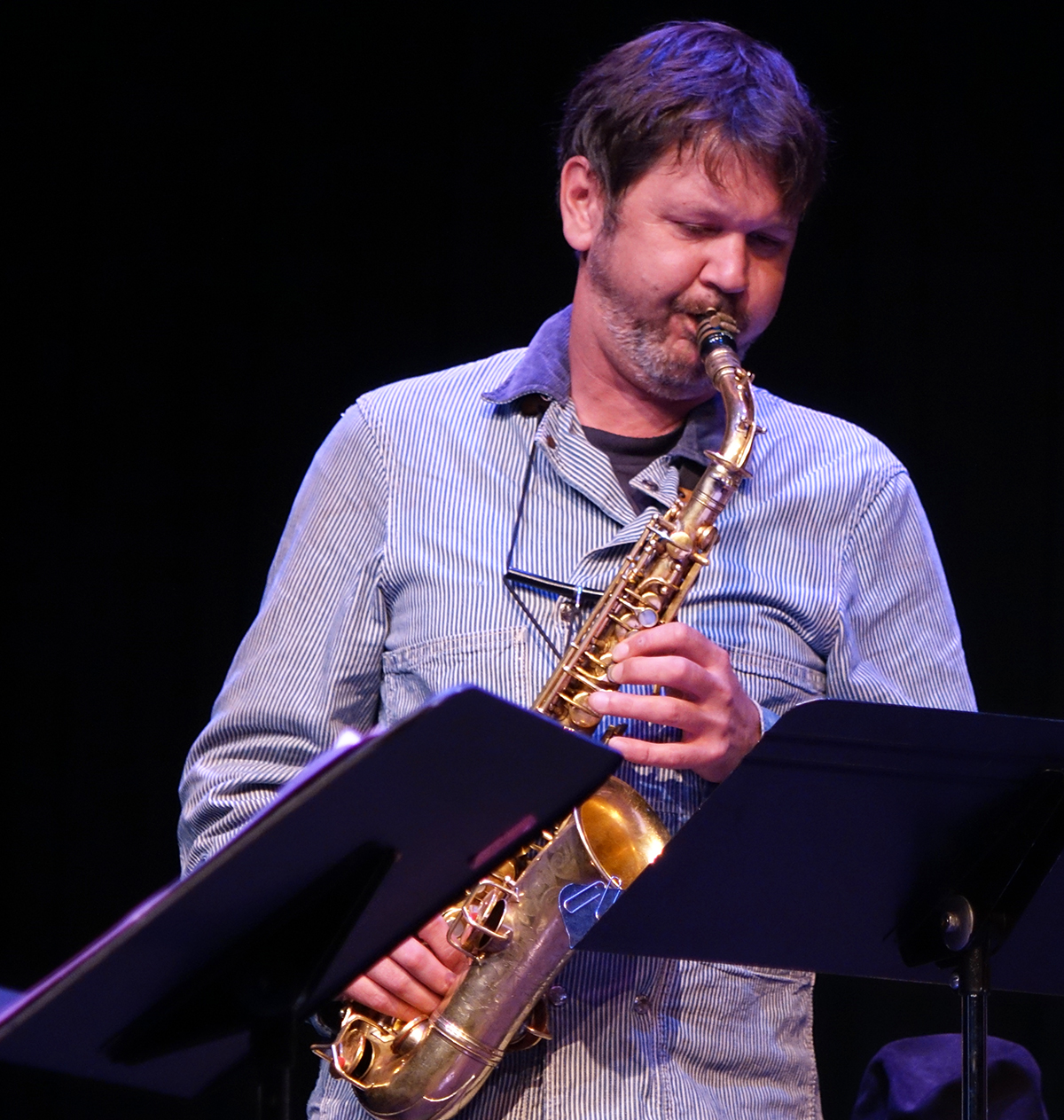 Jim Hobbs at Guelph Jazz Festival 2015
