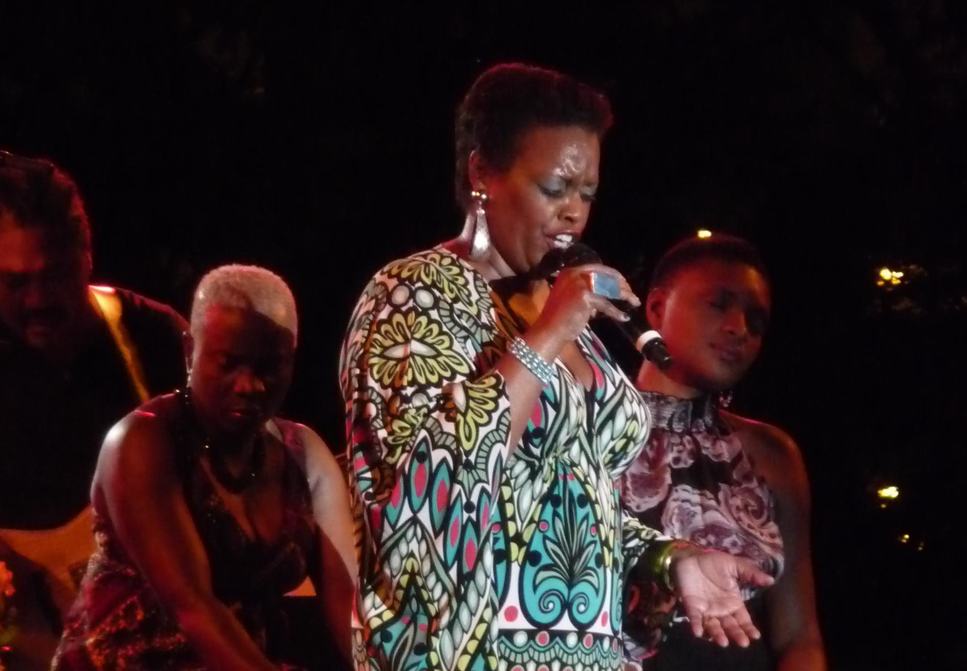 Angelique Kidjo, Dianne Reeves & Lizz Wright at Detroit Jazz Festival 2011