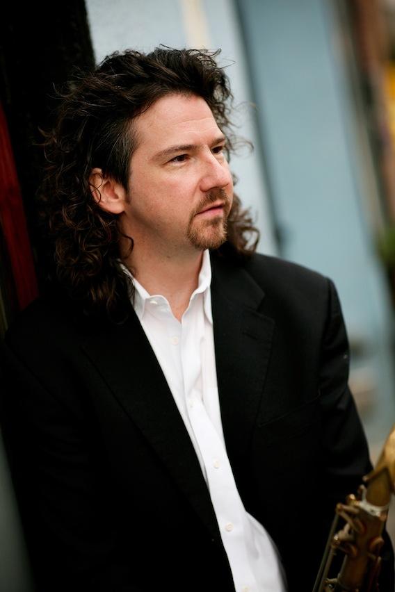 Saxophonist Jeff Antoniuk