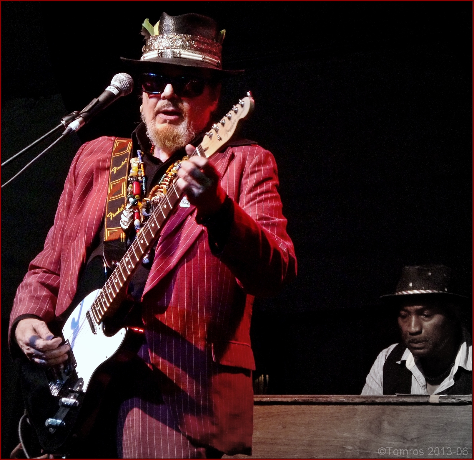 Dr. john at main stage, toronto jazz festival, june 2013