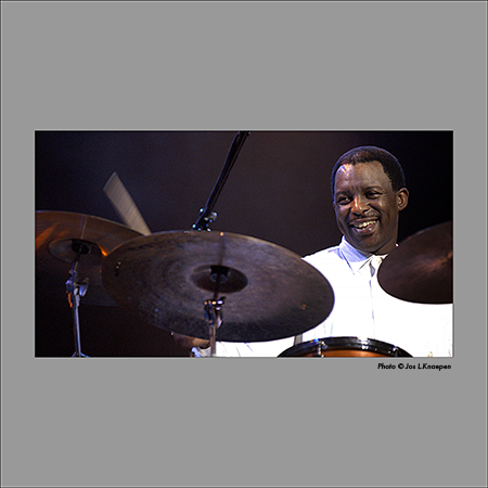 Herlin Riley, Jazz in Marciac, France, August 2004