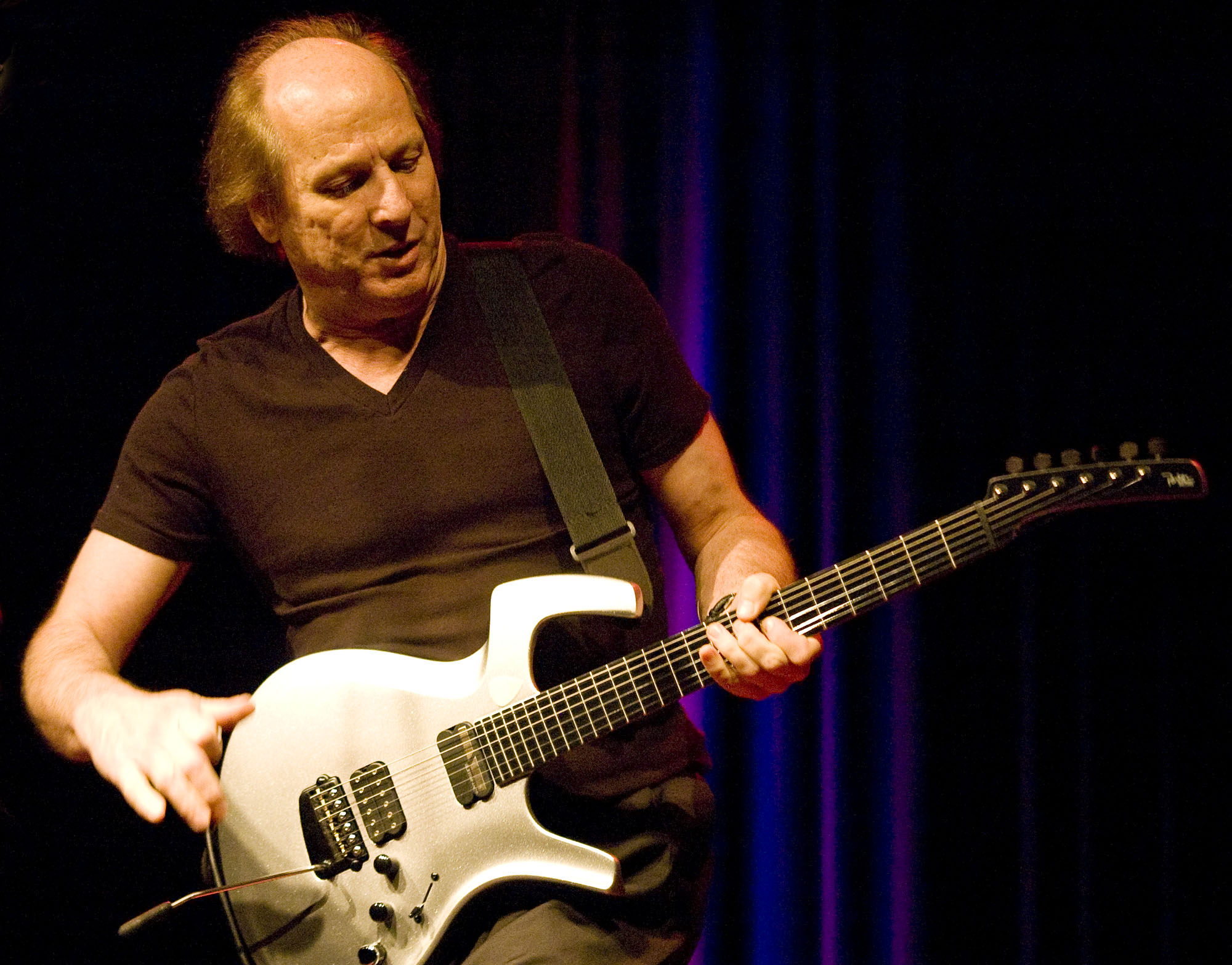 Adrian Belew, Performing with Power Trio at Enjoy Jazz 2010