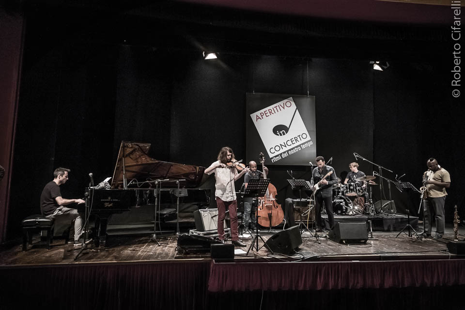 Alexander Hawkins Ensemble al Teatro Manzoni di Milano