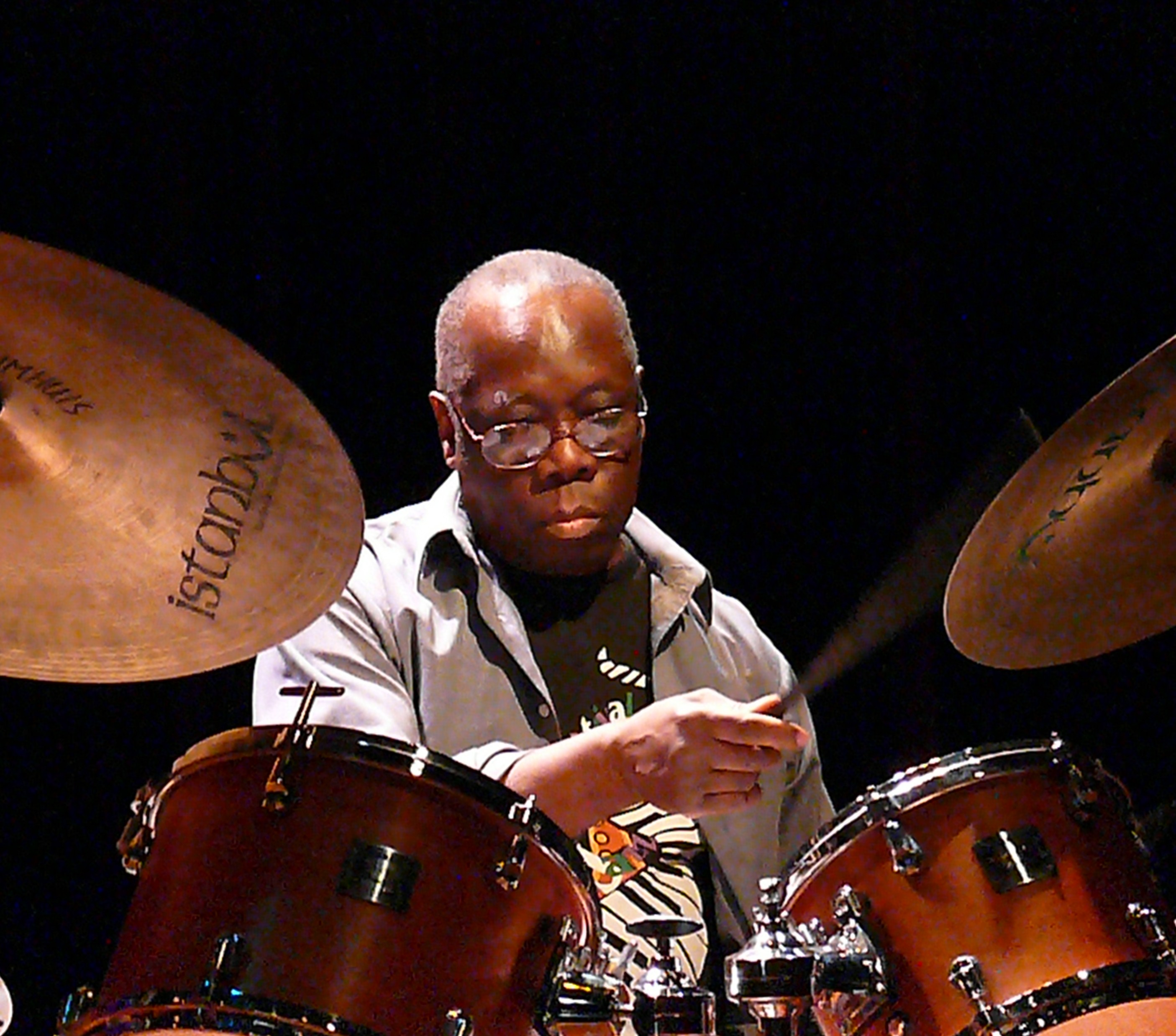 Andrew Cyrille with Trio 3 Amsterdam