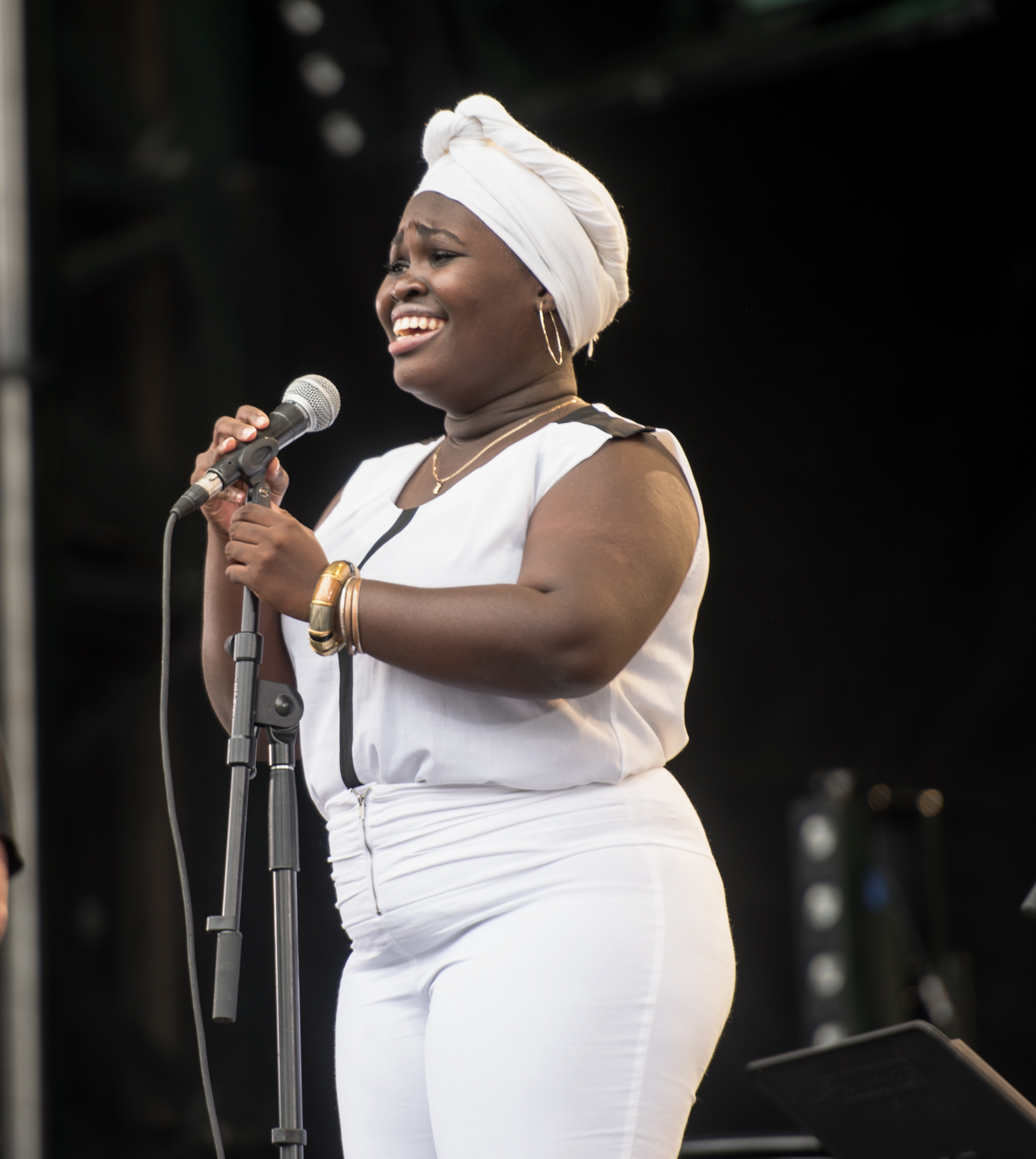 Daymé Arocena With Jane Bunnett And Macqueque At The Montreal International Jazz Festival 2015