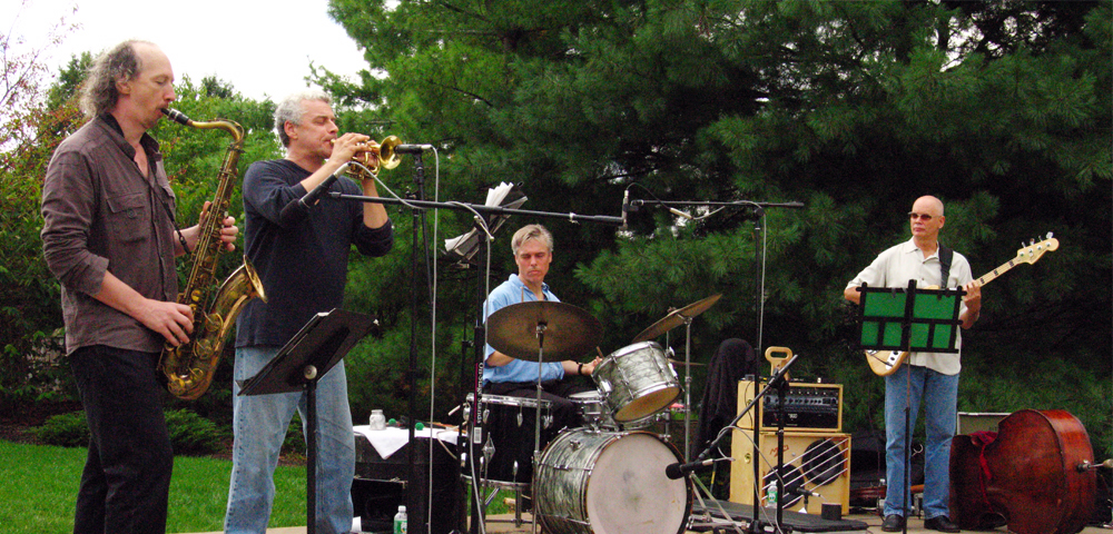 Gerry Hemingway Quartet with Ellery Eskelin, Mark Helias and Herb Robertson- Plainsboro Art Festival 2006