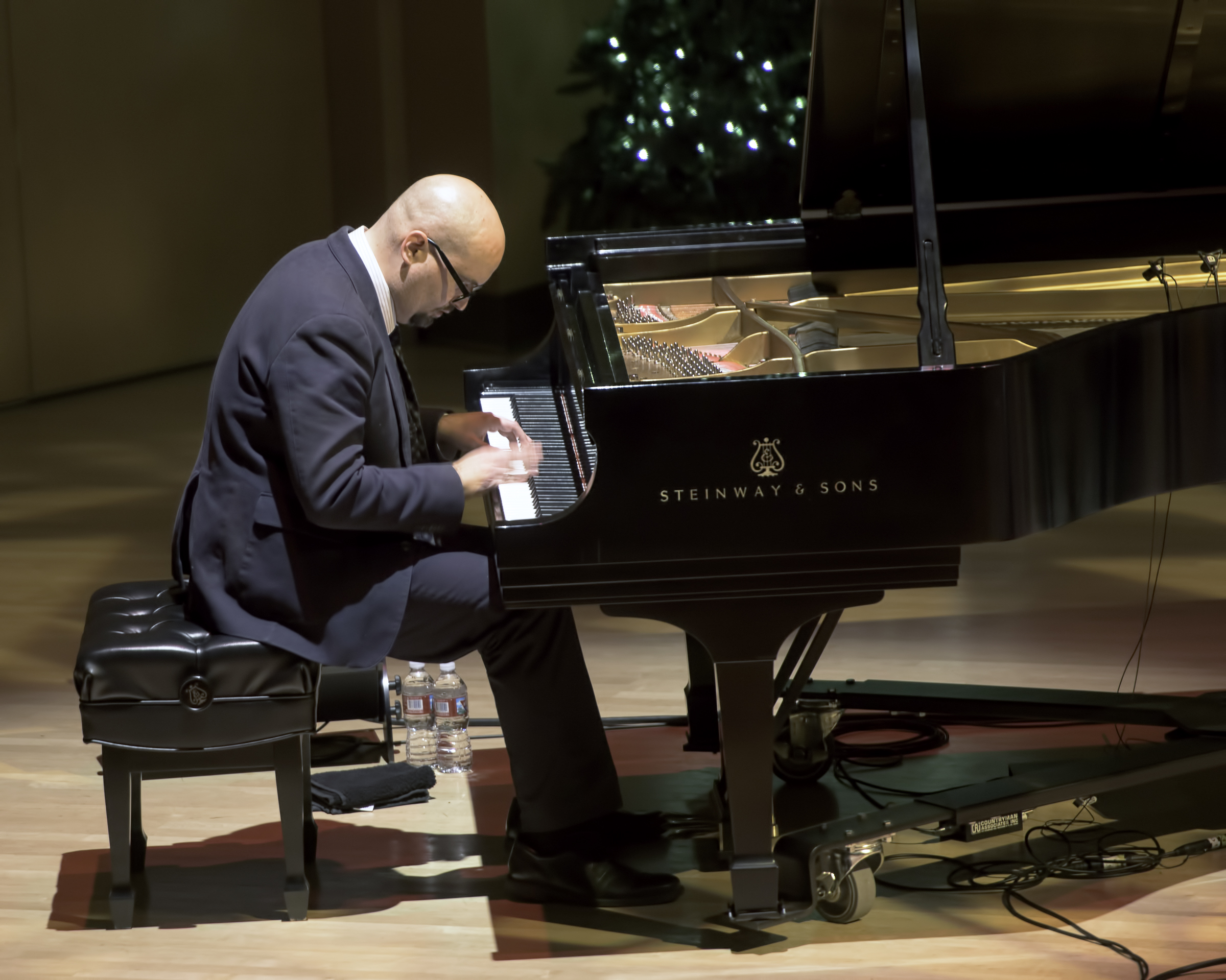 Ethan Iverson With The Bad Plus Joshua Redman At The Musical Instrument Museum (mim) Phoenix