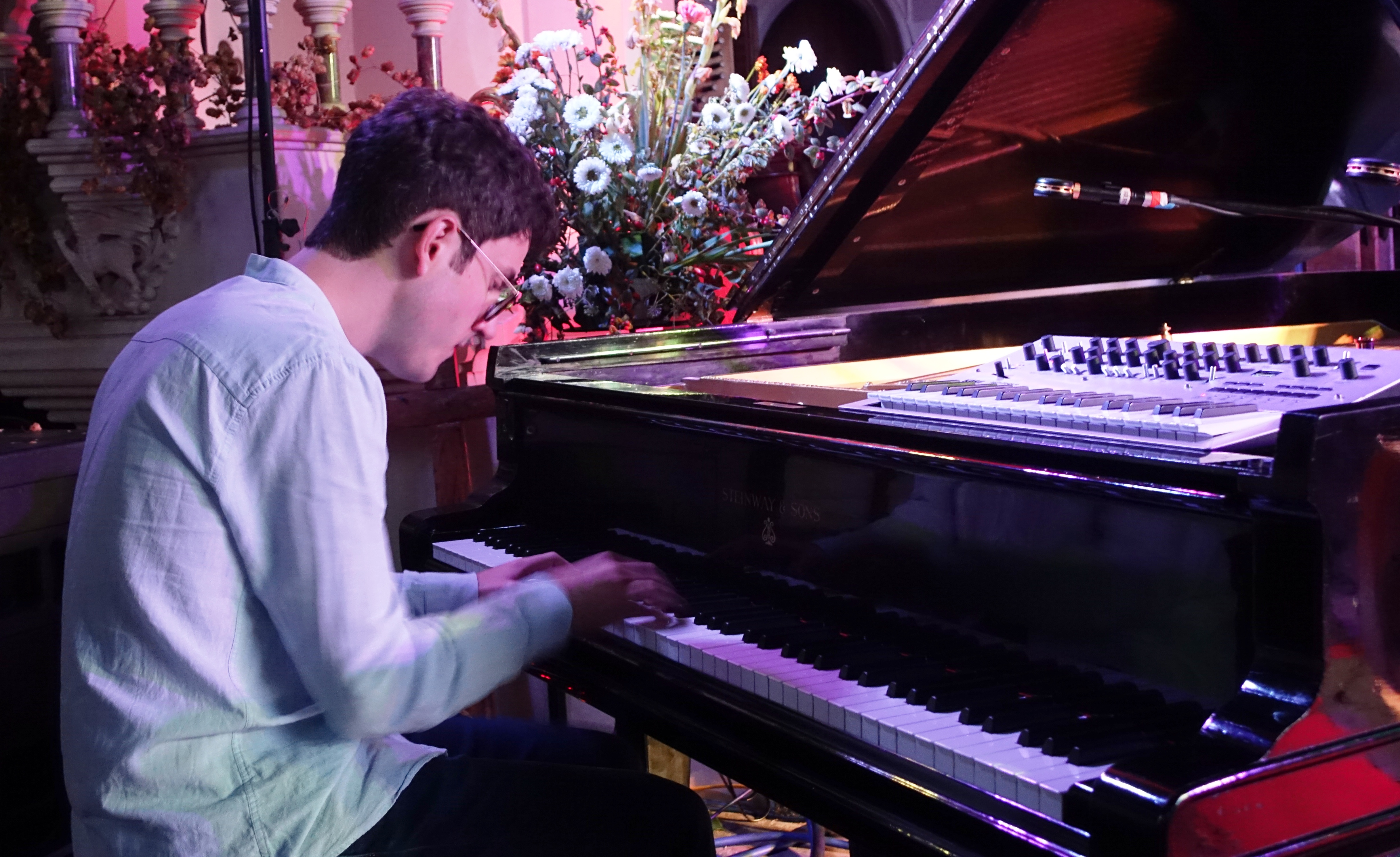 Elliot Galvin at Brighton Alternative Jazz Festival in October 2018