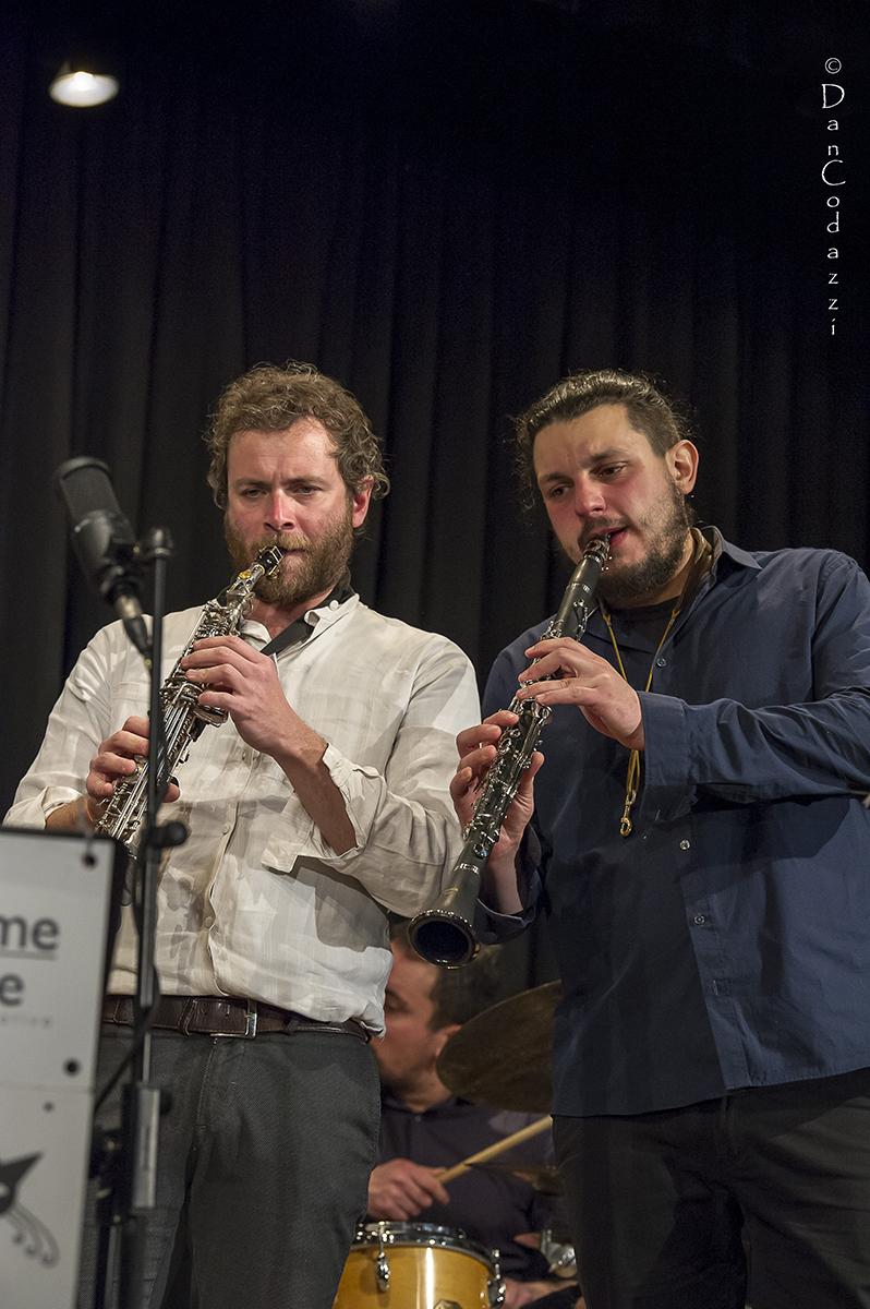 Simone Alessandrini and Federico Pascucci,Dolomiti ski jazz 2019