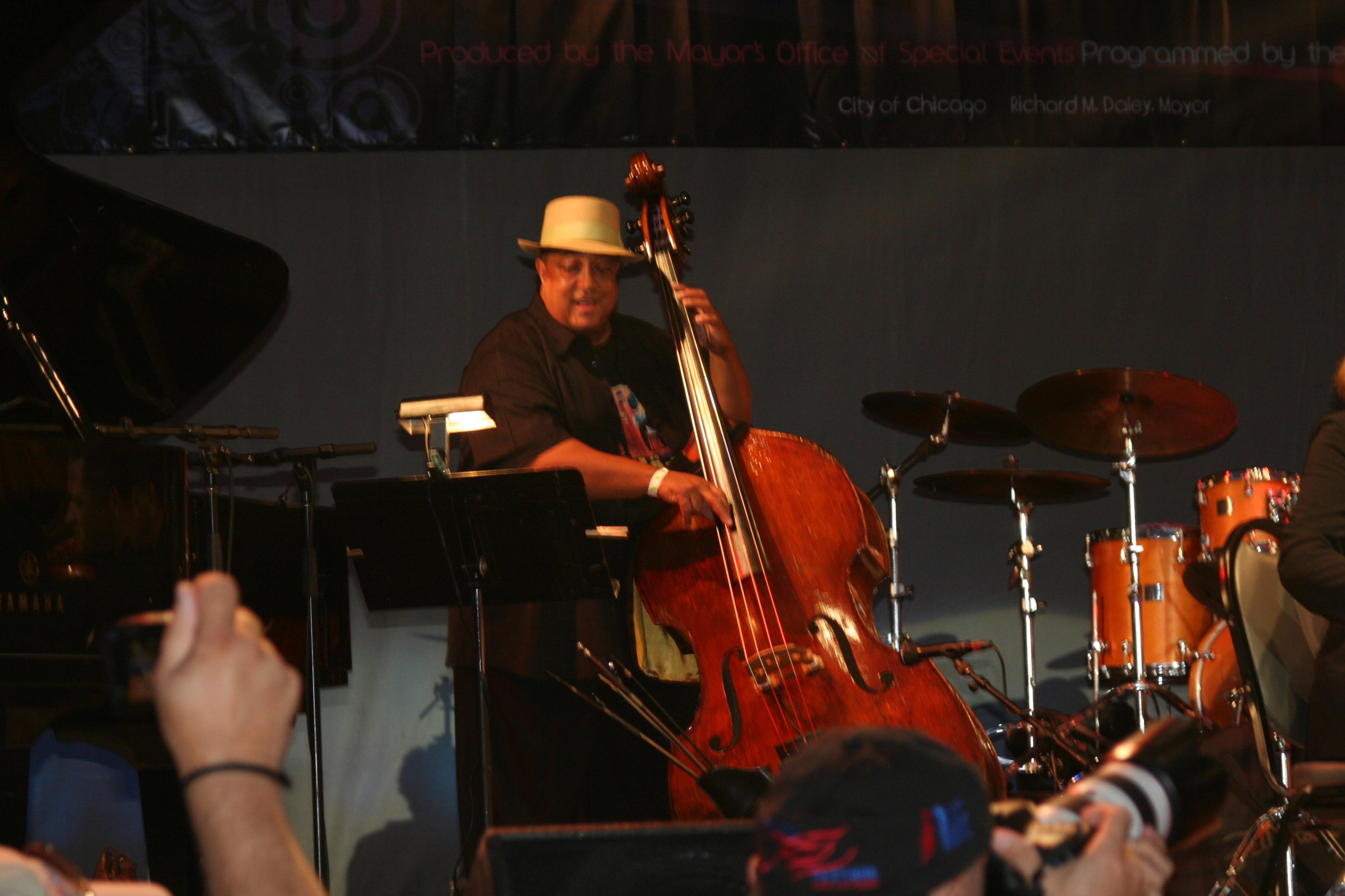 Harrison Bankhead Chicago Jazzfest
