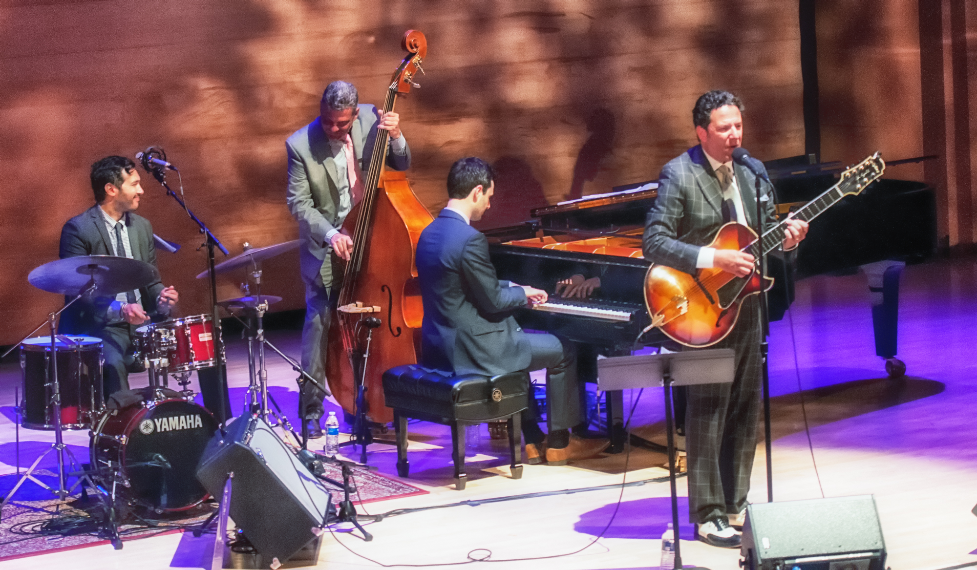 Kevin Kanner, Martin Pizzarelli, Konrad Paszkudzki And John Pizzarelli With Quartet At The Musical Instrument Museum (mim) In Phoenix