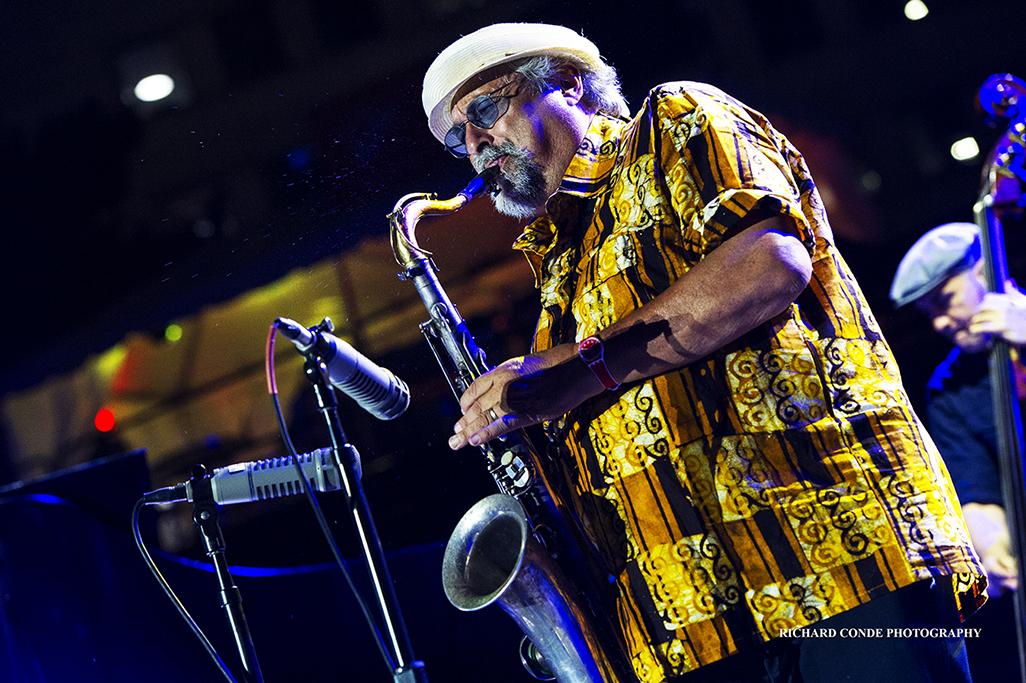 Joe Lovano at the 2017 Detroit Jazz Festival
