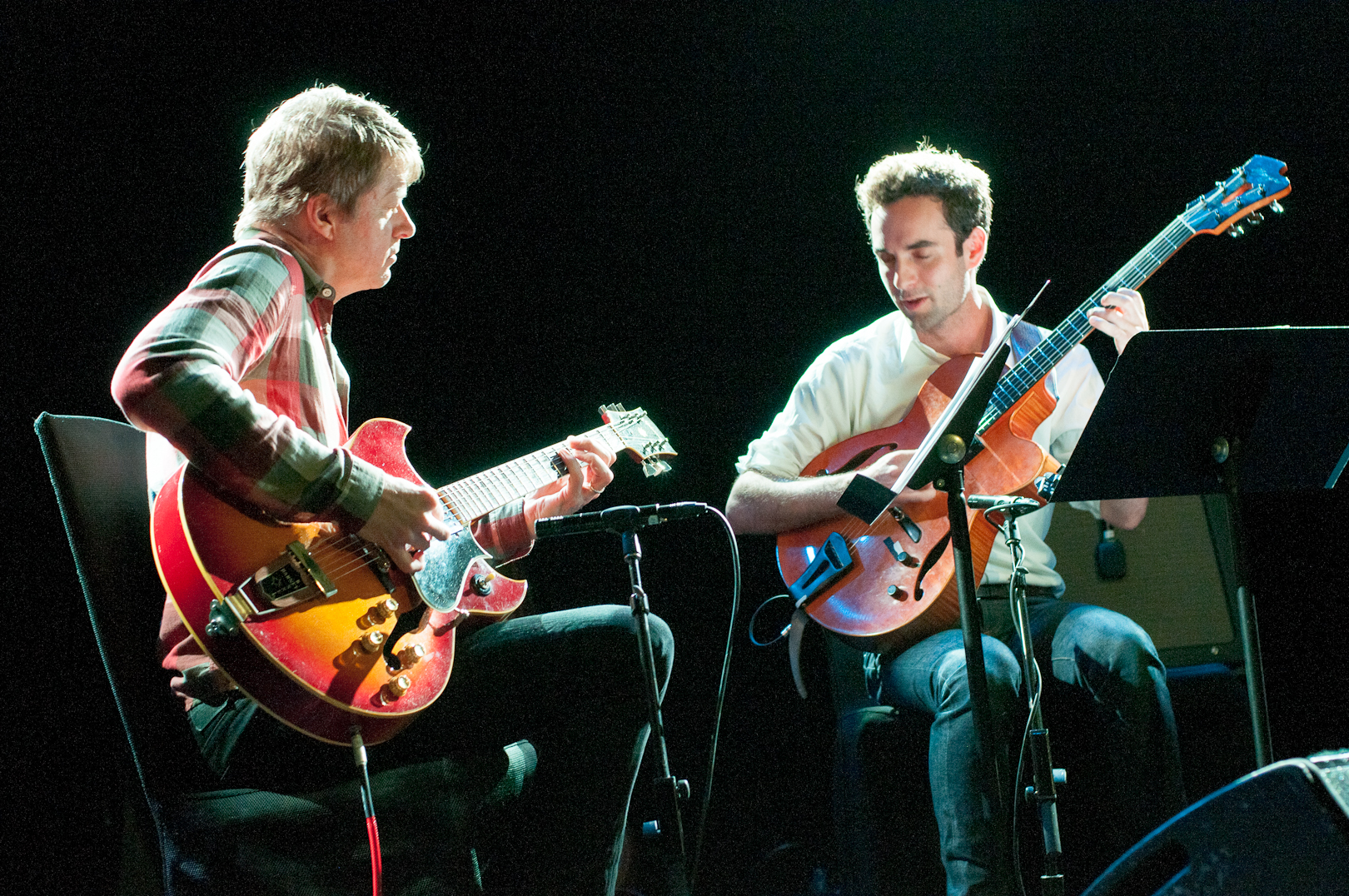 Nels Cline with Julian Lage at le Poisson Rouge
