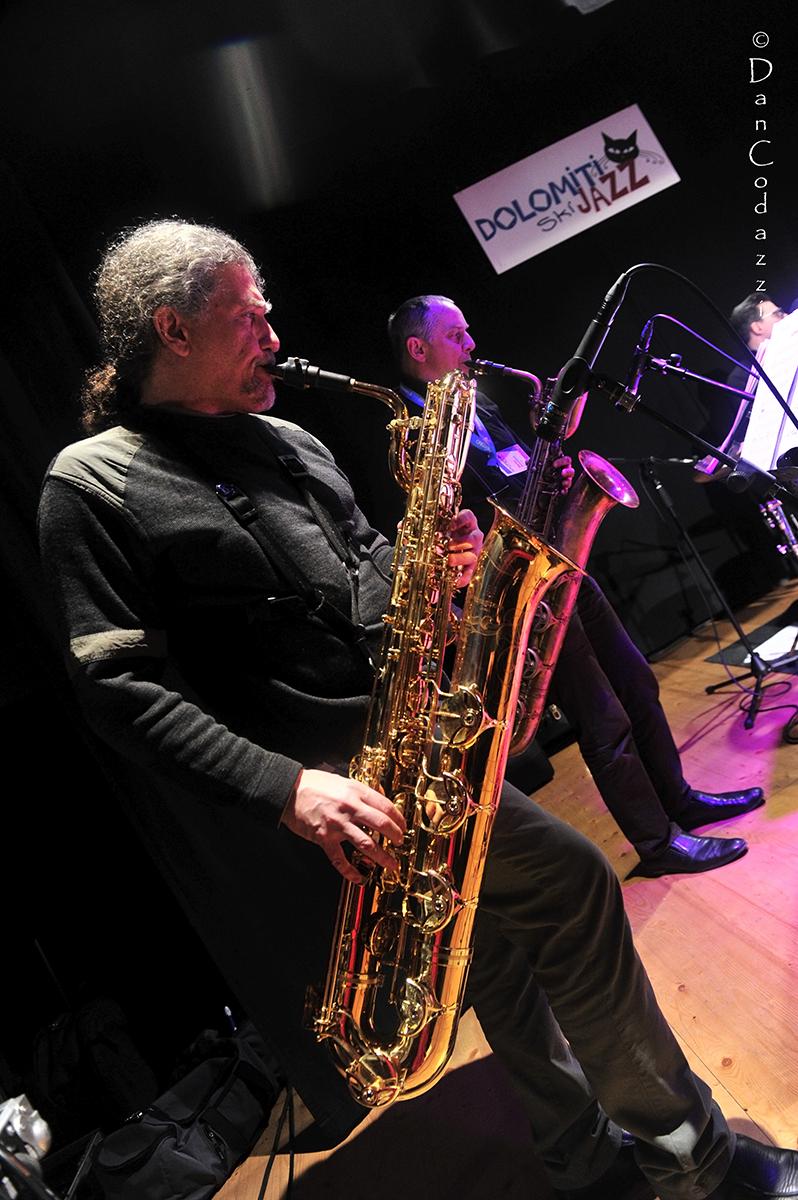 Javier Girotto sax baritono