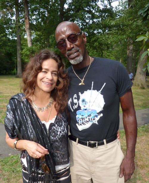 Michele Rosewoman and T.S. Monk