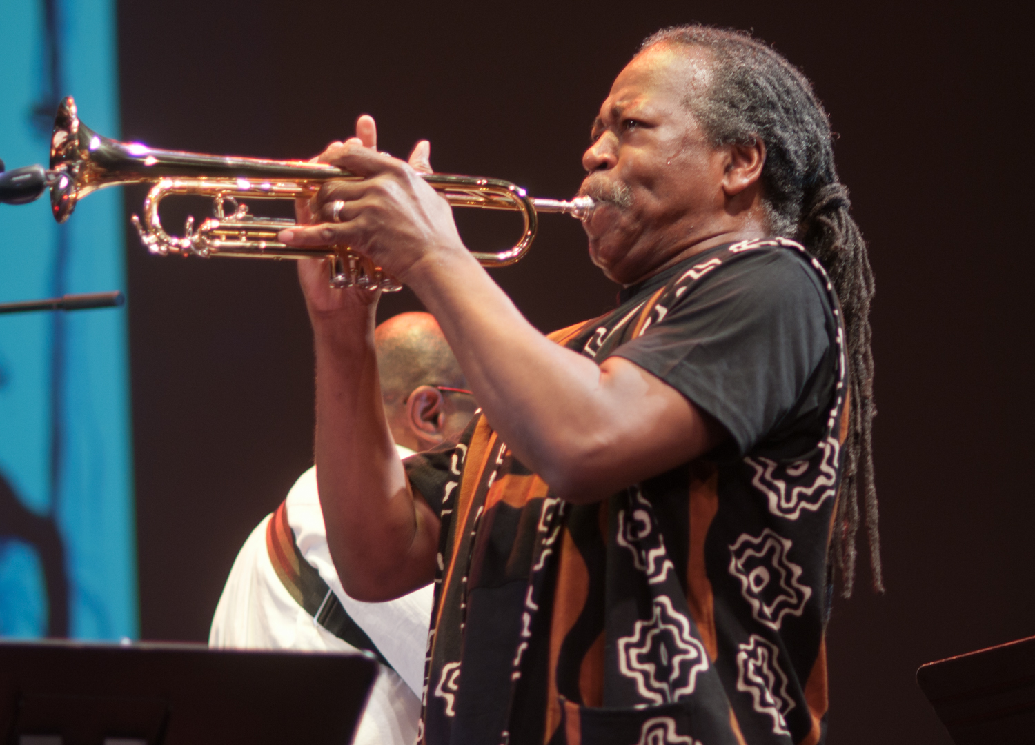 """Ahmed Abdullah with """"The Group"""": A Tribute to Marion Brown & Billy Bang at the Vision Festival 2011"""