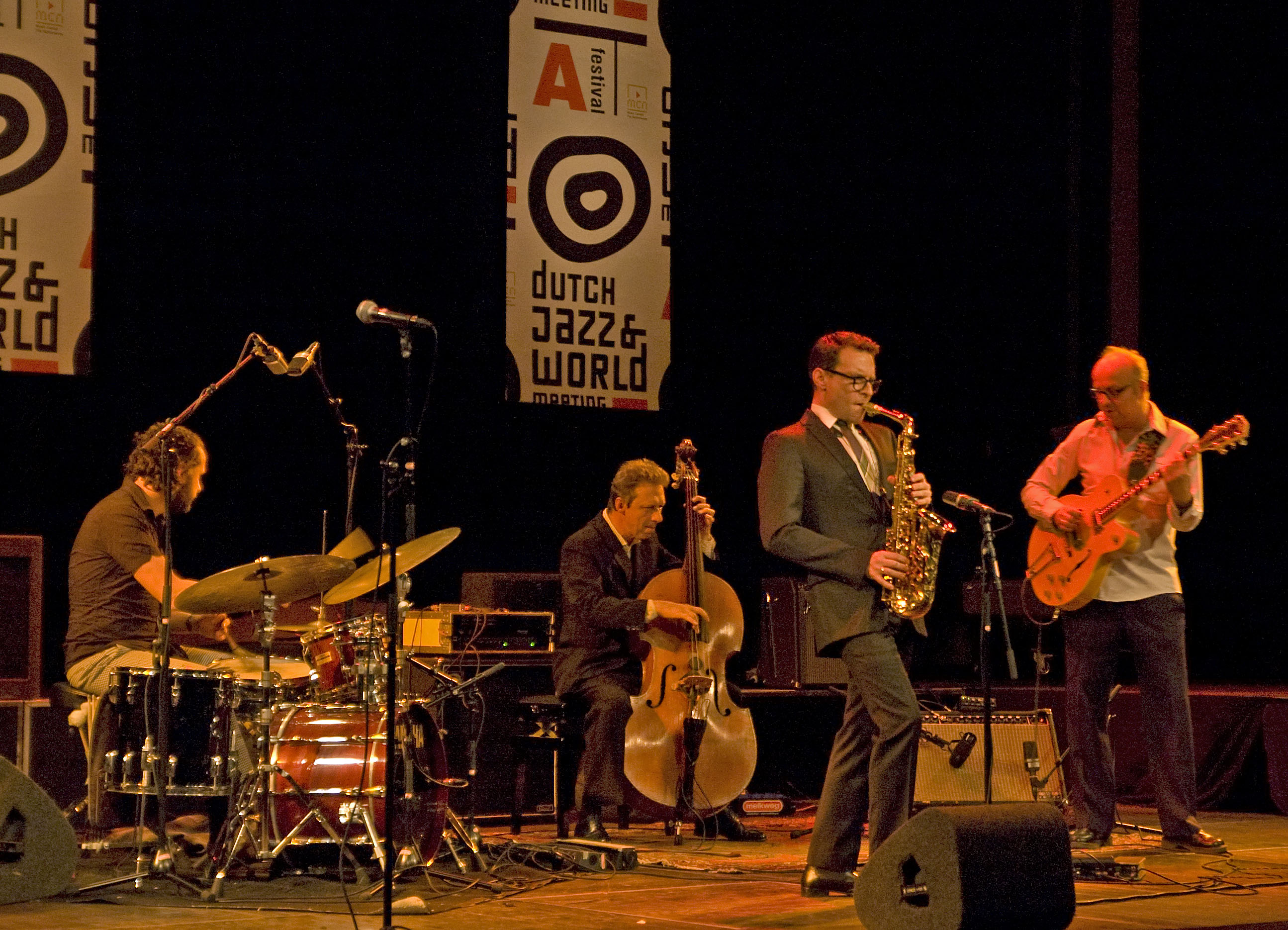 Benjamin Herman Quartet at Dutch Jazz & World Meeting, December 2, 2010