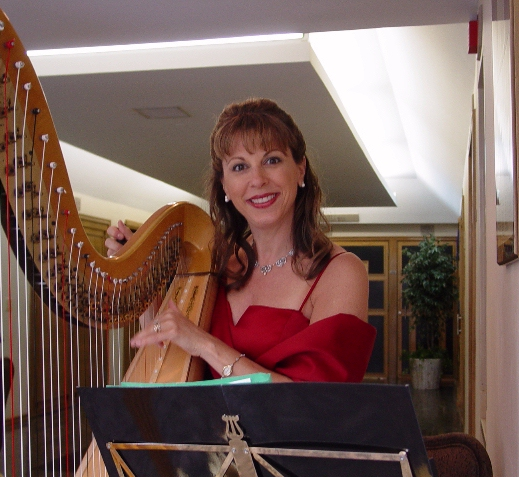 Jazz Harpist Gloria Galante In Collingswood NJ, Thurs. April 4th!