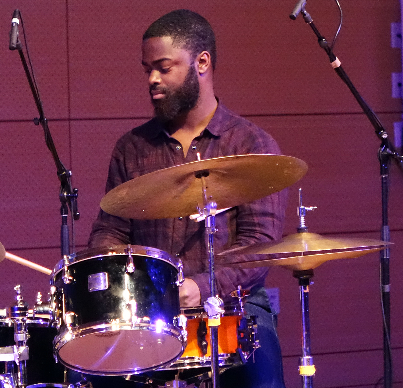 Marcus Gilmore at NYC Winter JazzFest 2016