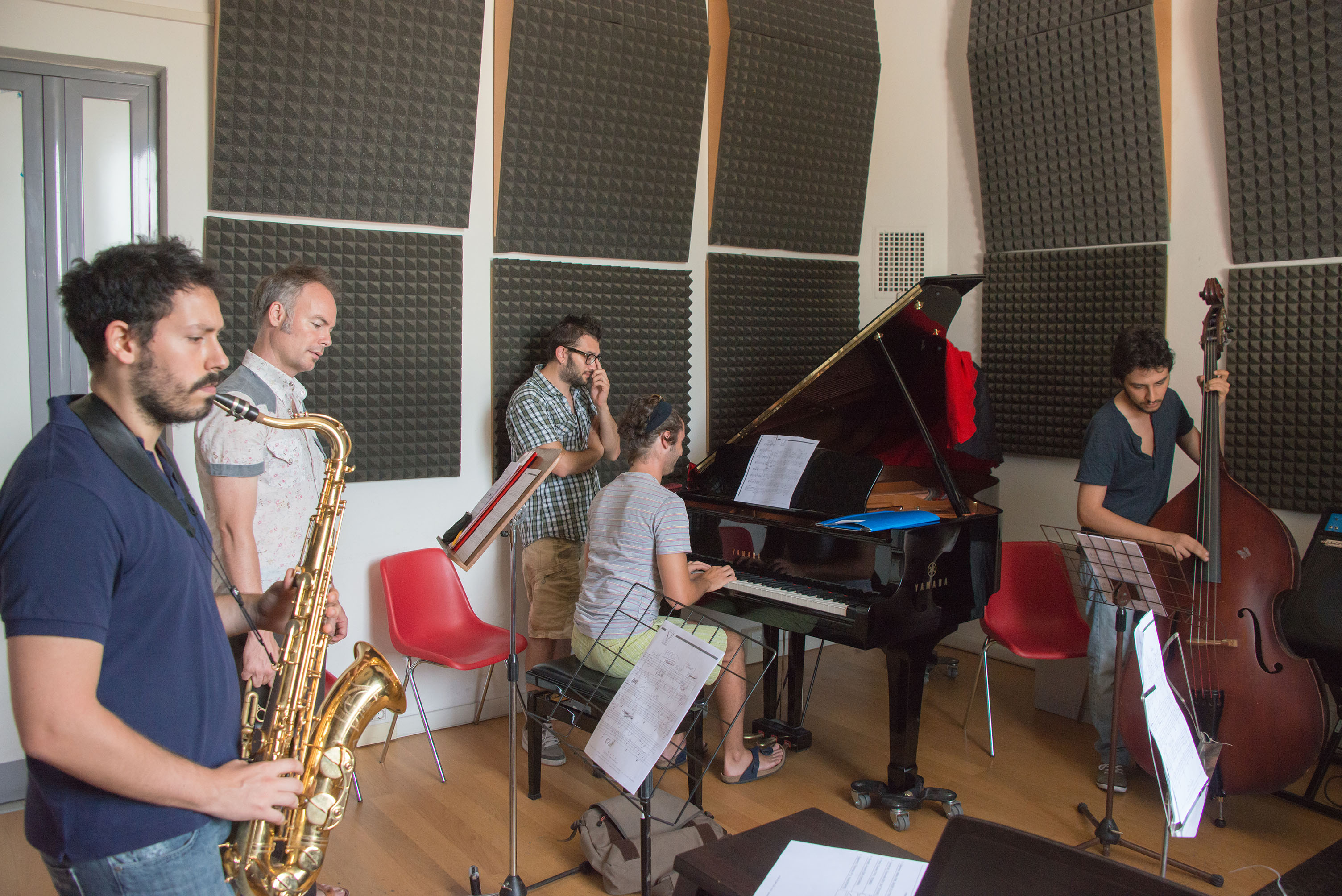 Roberto gatto combo class, 2013 siena jazz academy summer worksh