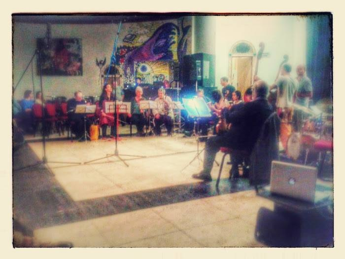 Alison Blunt Ensemble at Benefit Concert for Kenny Wheeler at Epic 15.8.14 c David Walsh