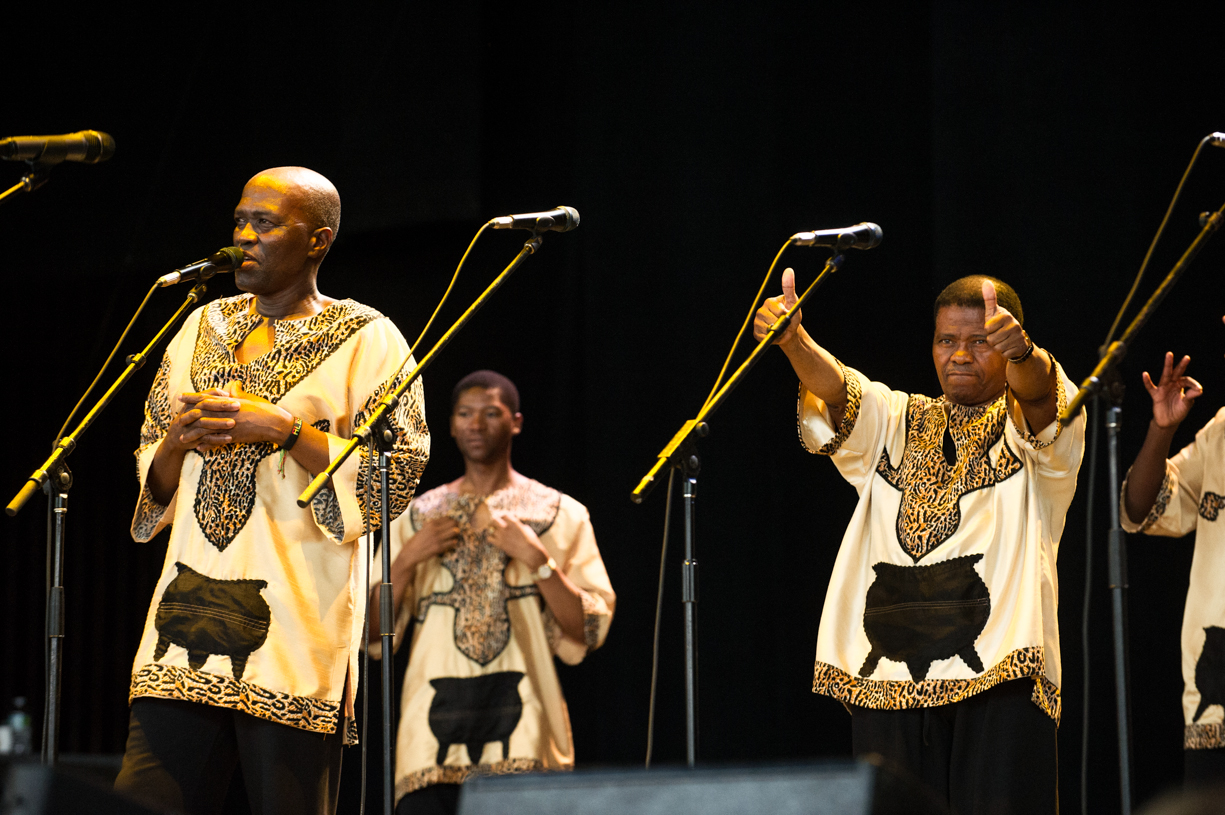 Ladysmith black mambazo at the saratoga jazz festival 2013