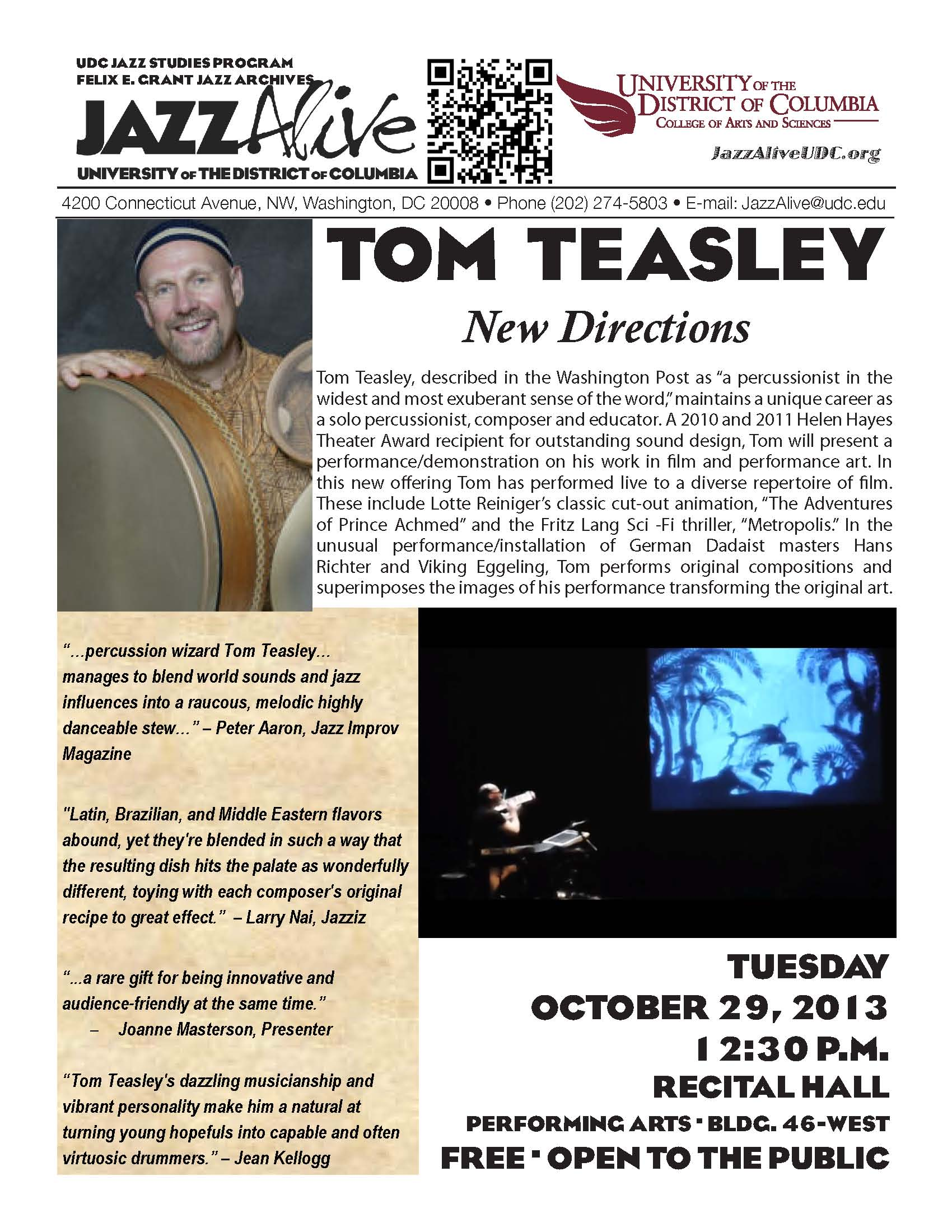 Tom teasley - new directions